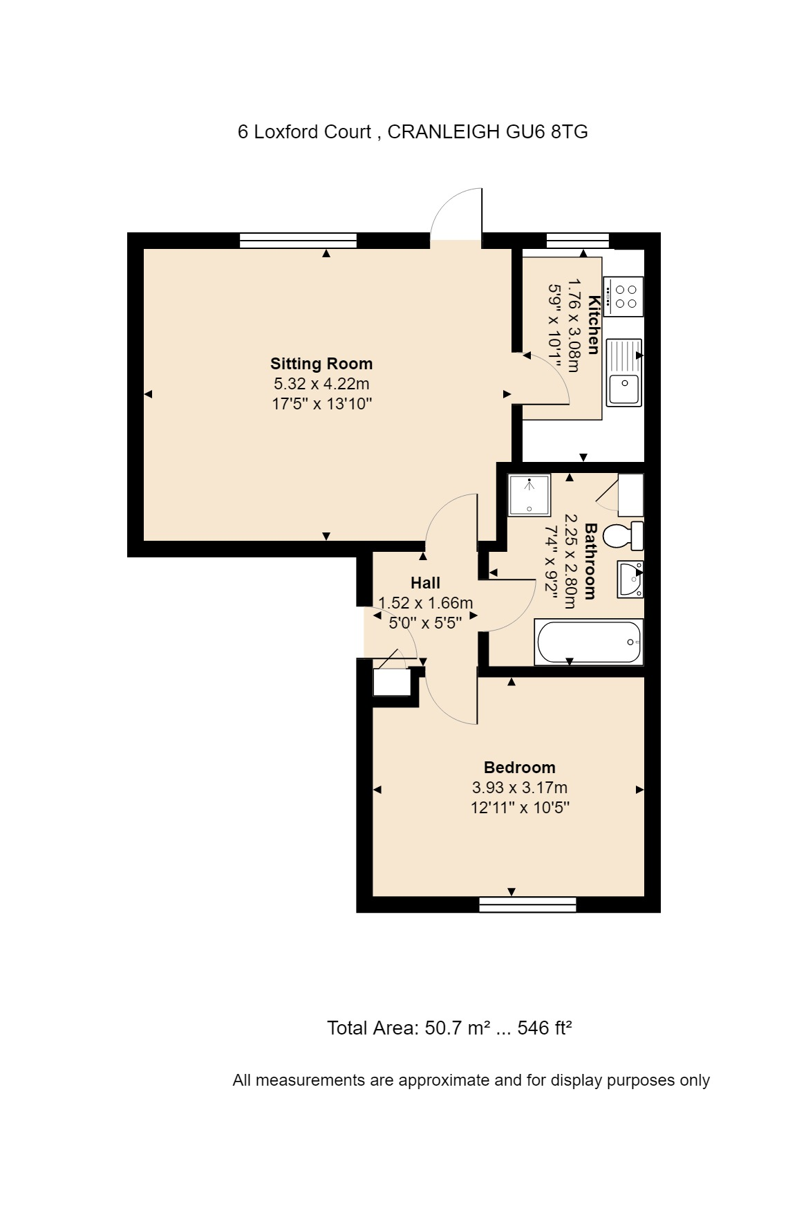 6 Loxford Court Floorplan