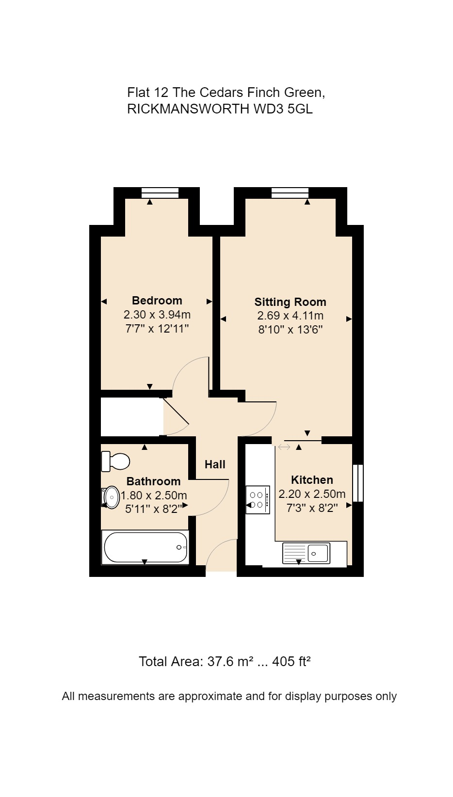 12 The Cedars Floorplan