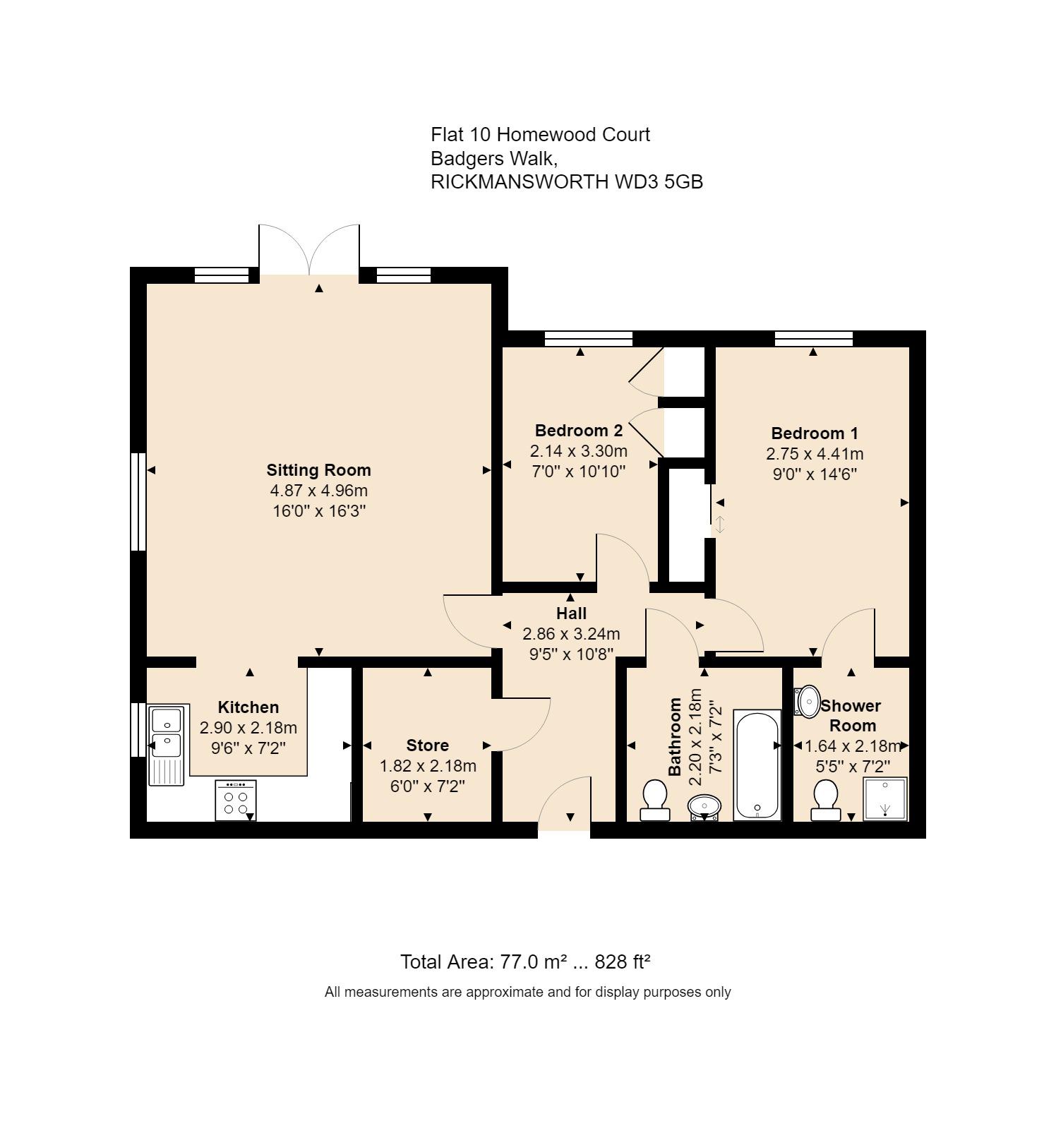 10 Homewood Court Floorplan