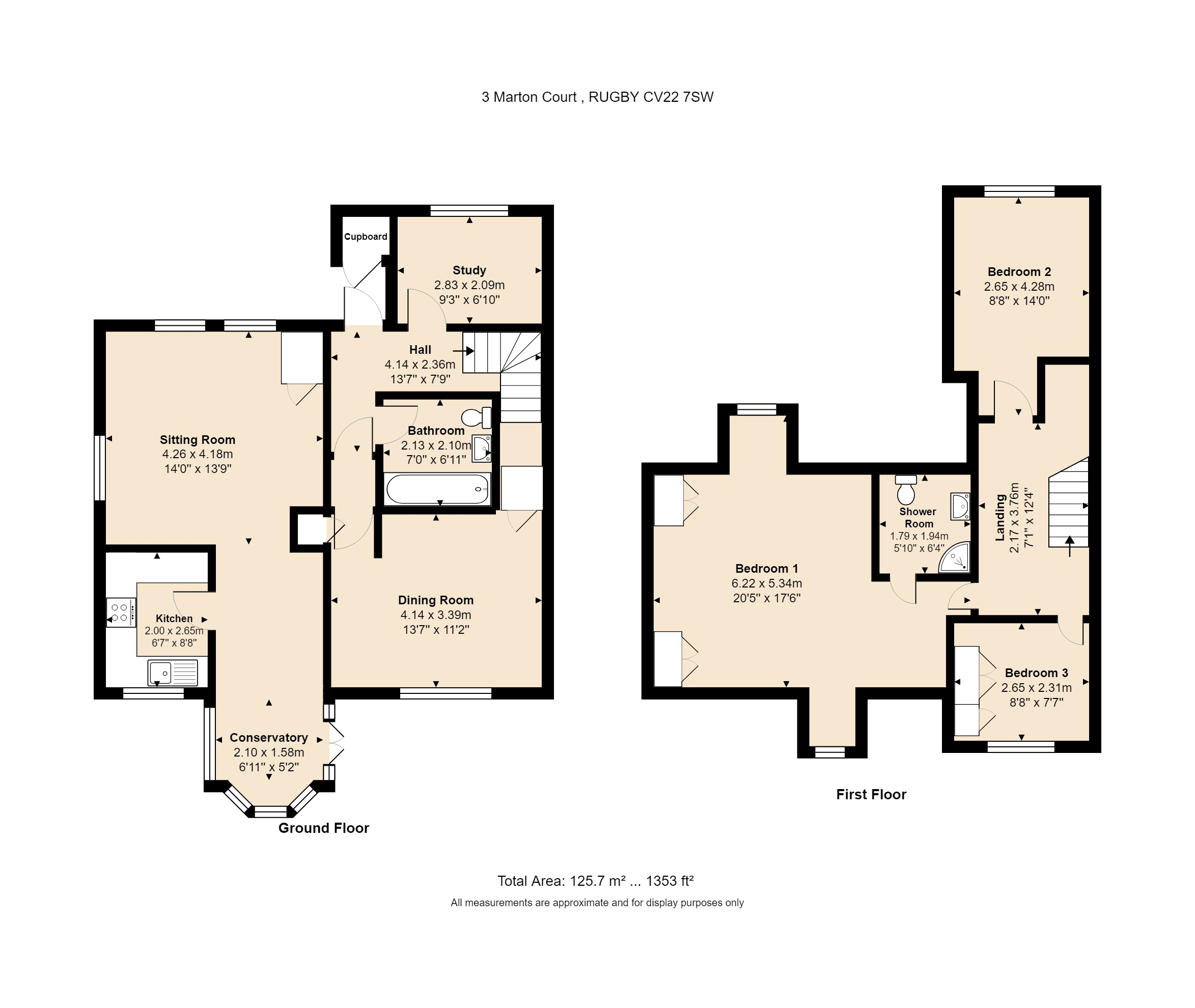 3 Marton Court Floorplan