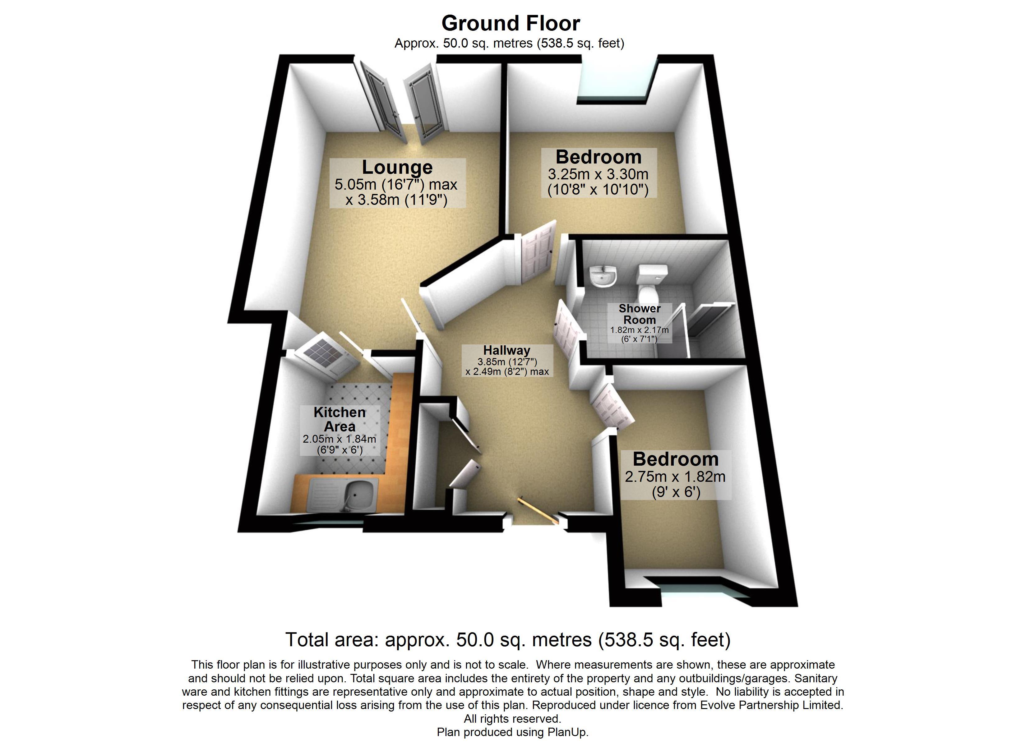 7 St Anthony House Floorplan