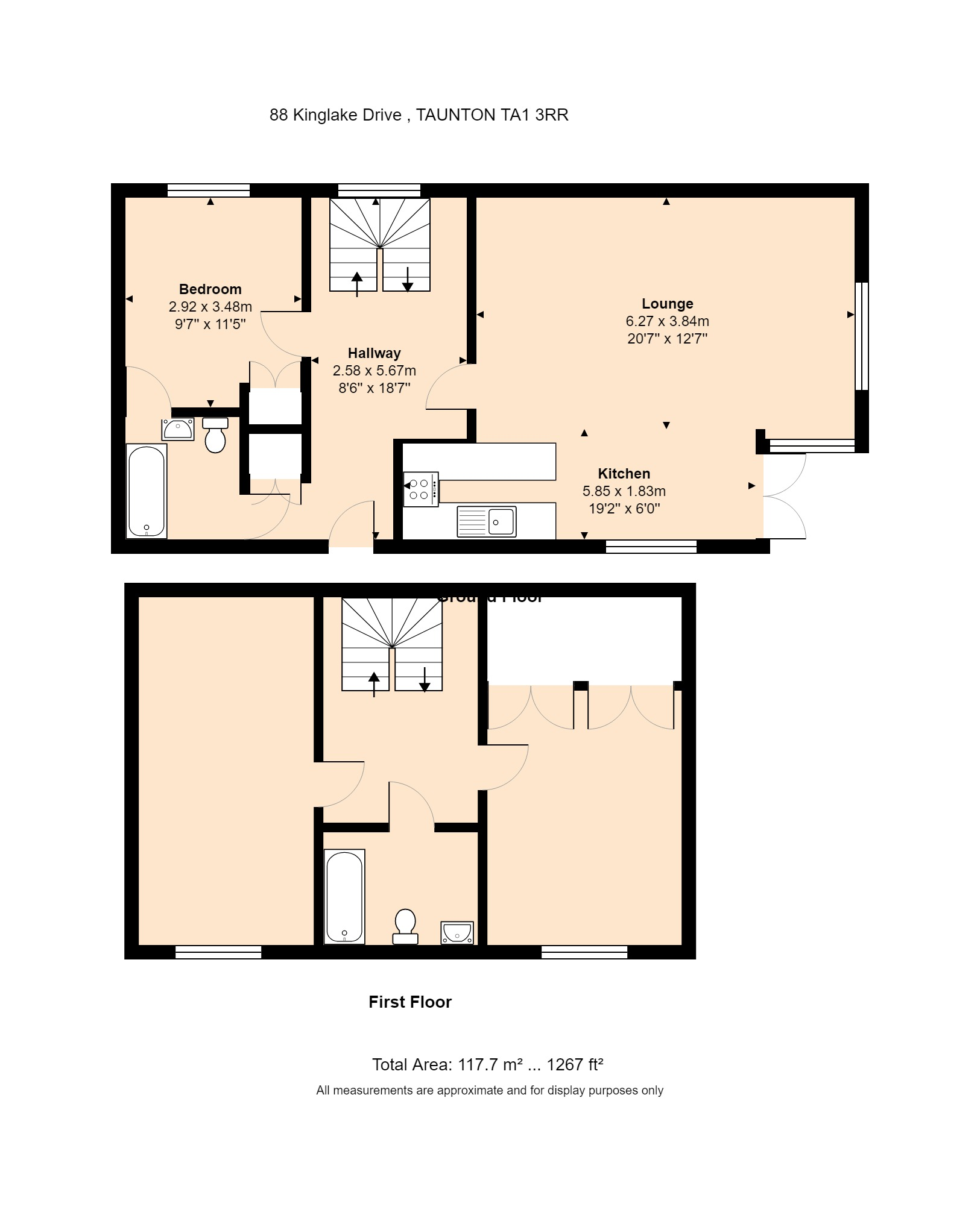 The Coach House, 88 Kinglake Drive Floorplan
