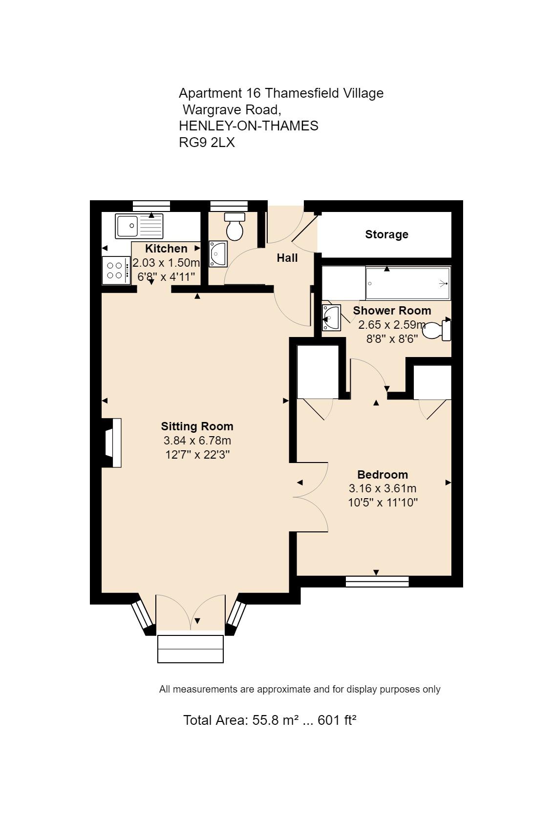 16 Berkley Floorplan