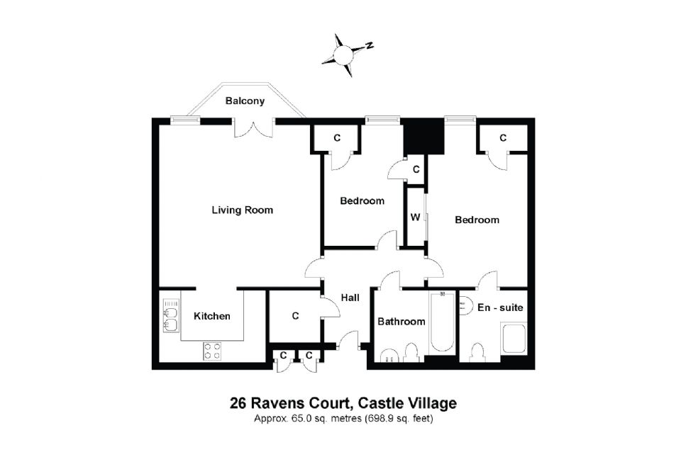 26 Ravens Court Floorplan