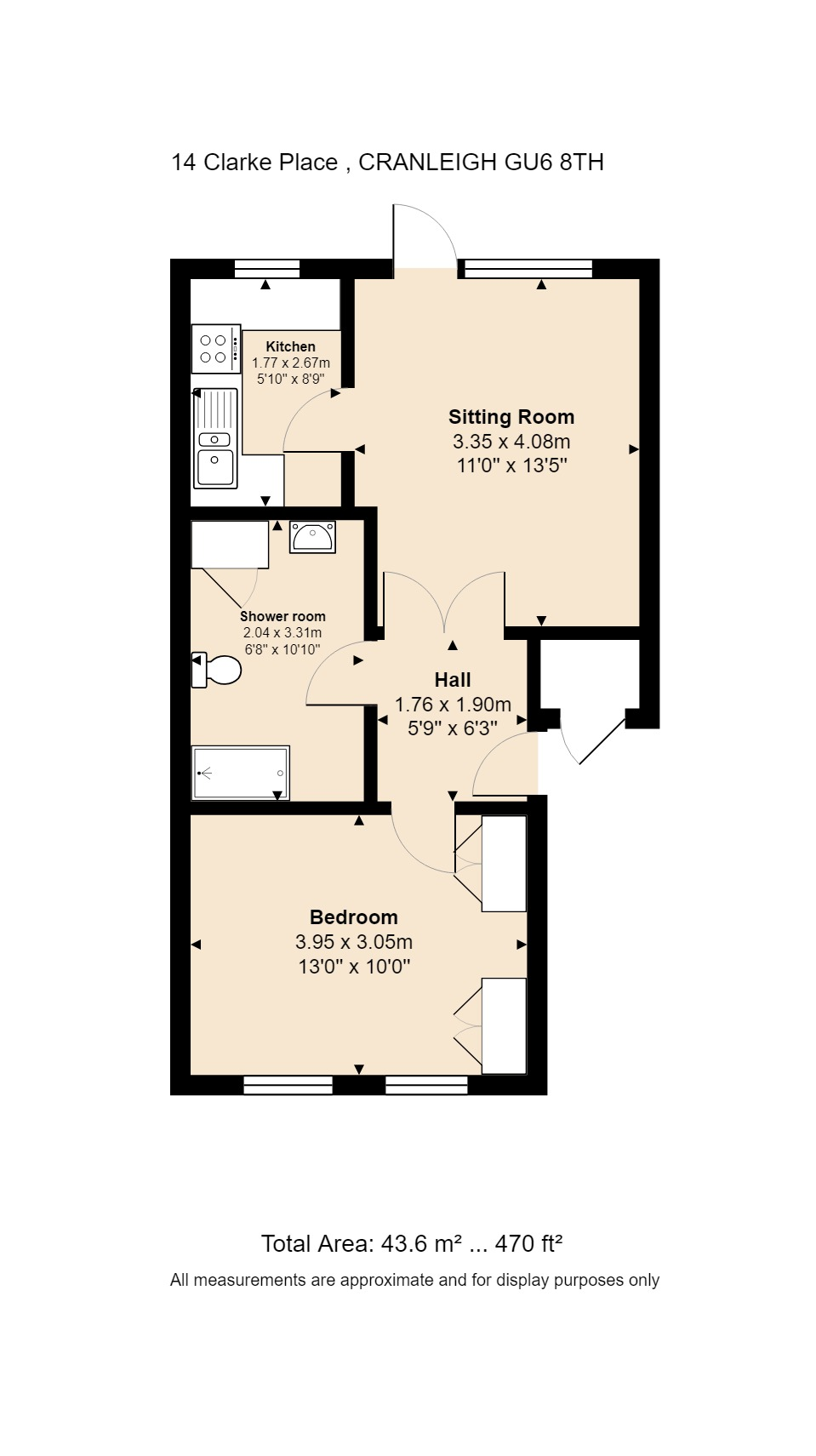 14 Clarke Place Floorplan