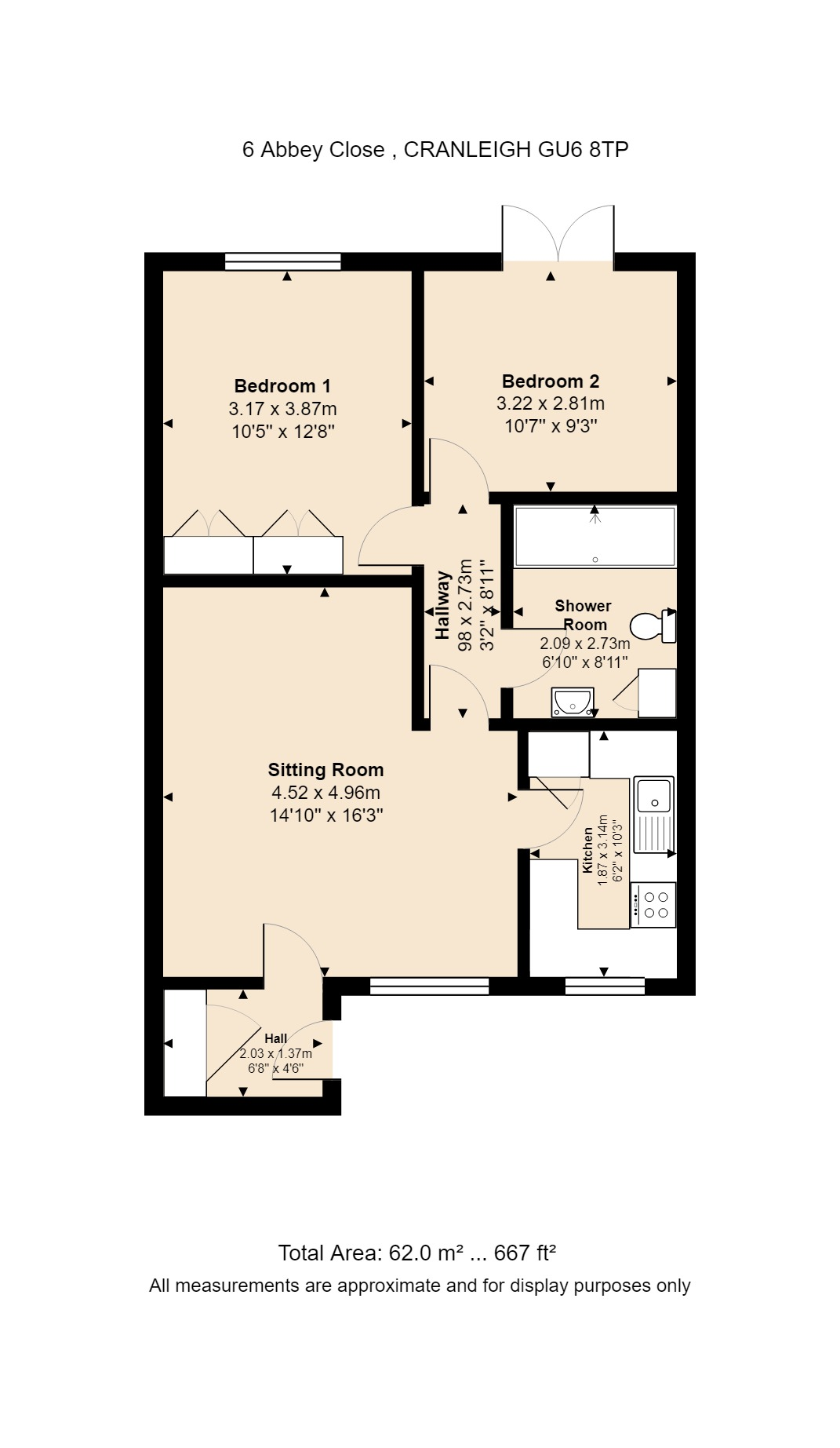 6 Abbey Close Floorplan