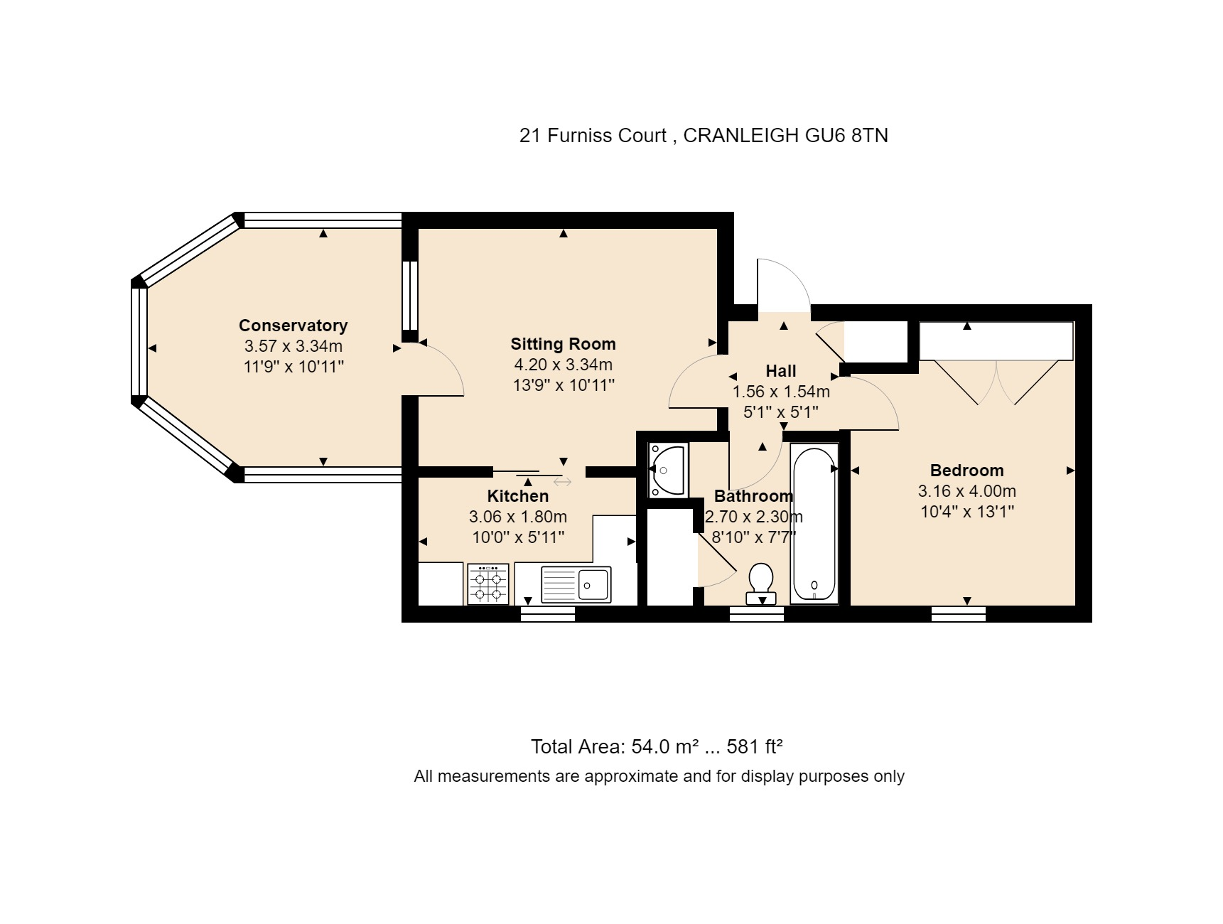 21 Furniss Court Floorplan