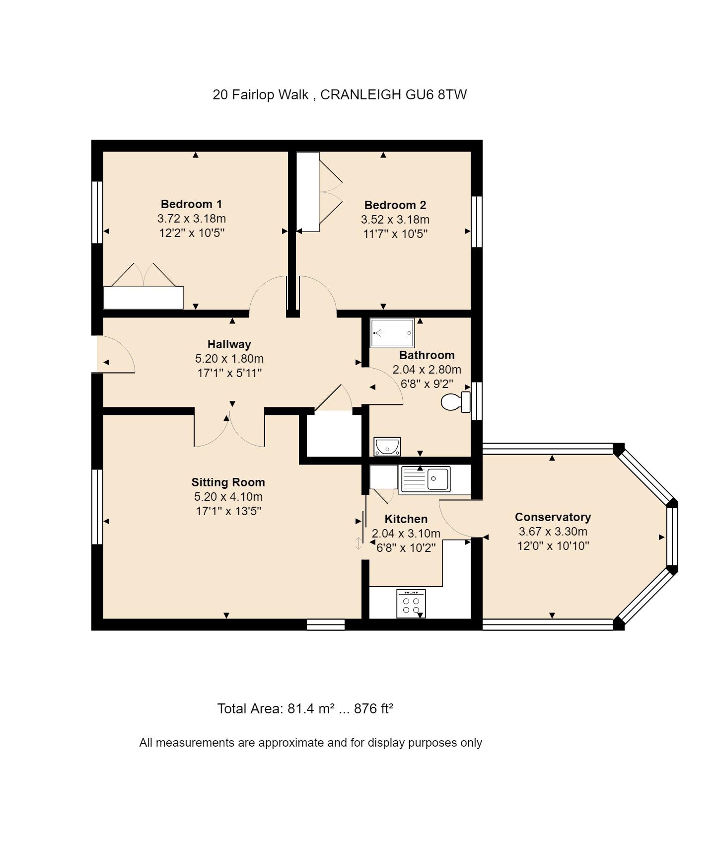 20 Fairlop Walk Floorplan