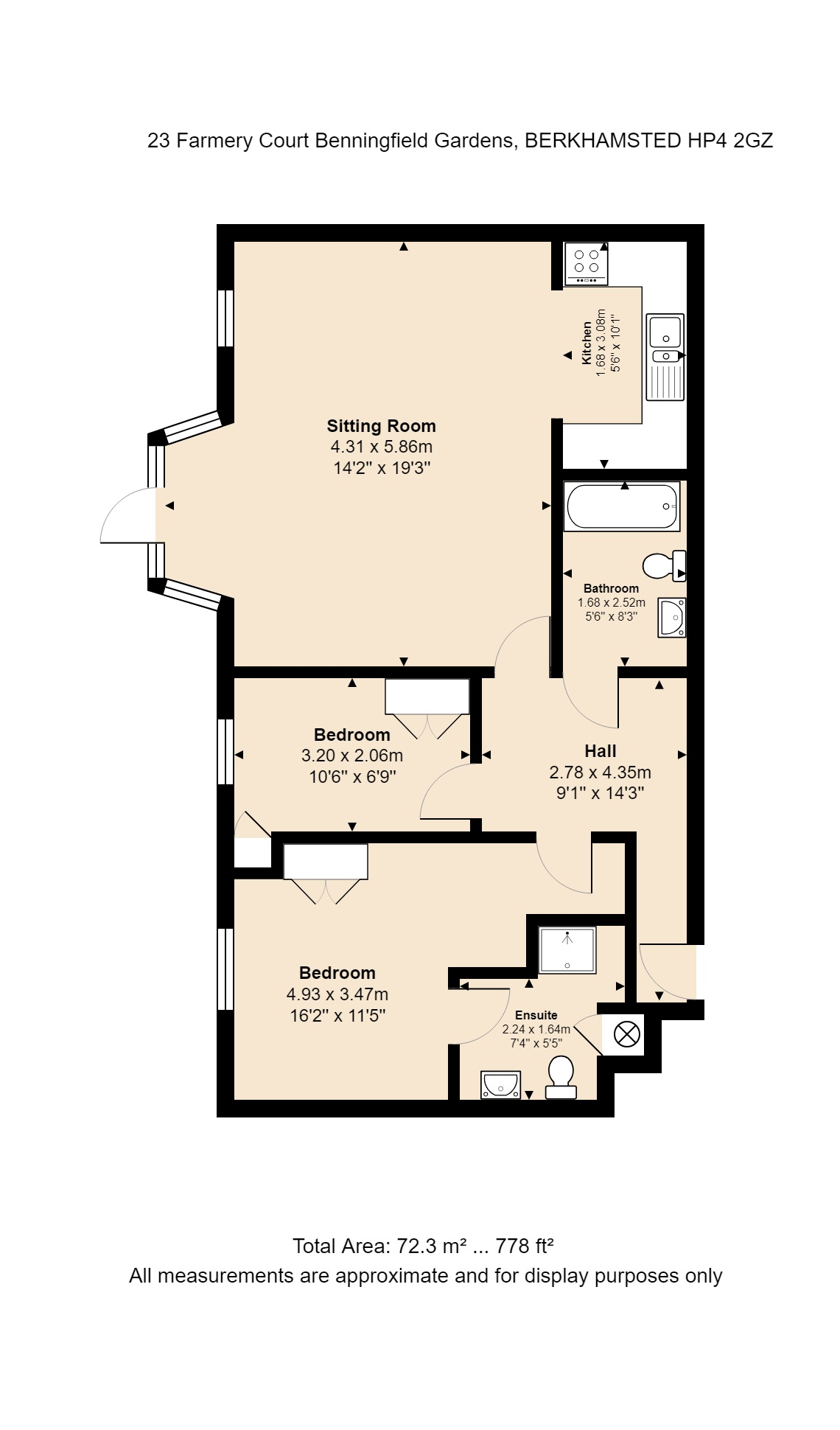 23 Farmery Court Floorplan