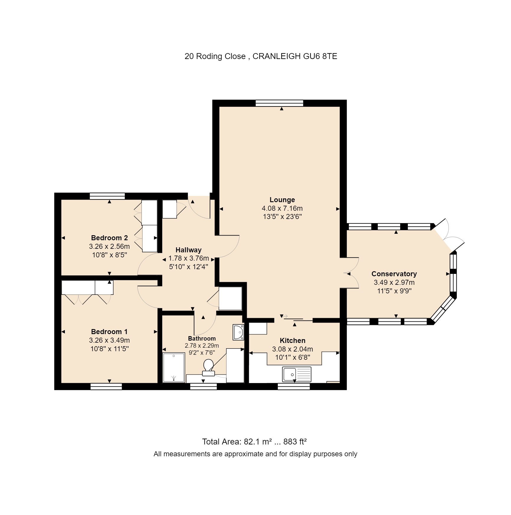 20 Roding Close Floorplan