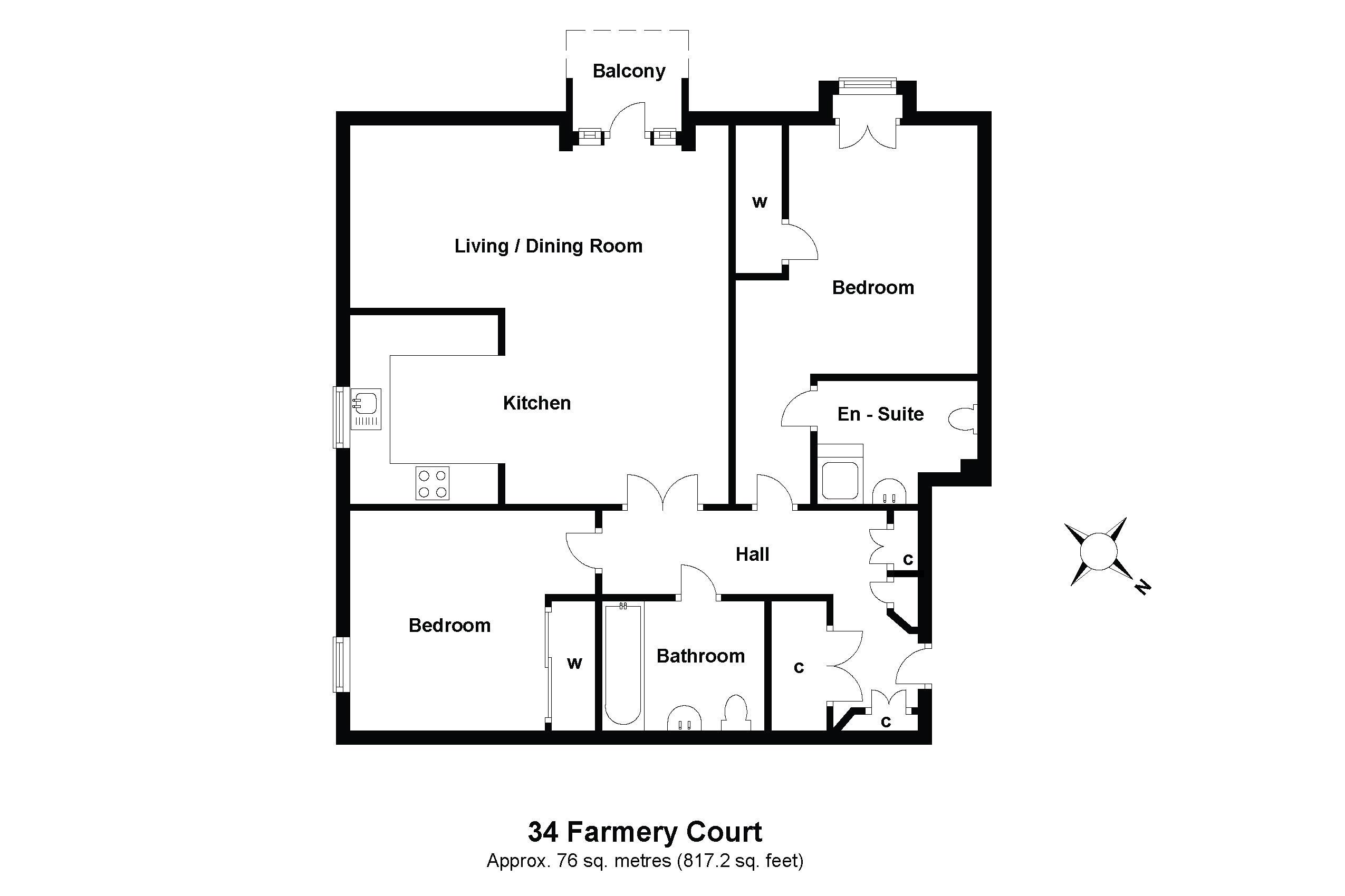 34 Farmery Court Floorplan