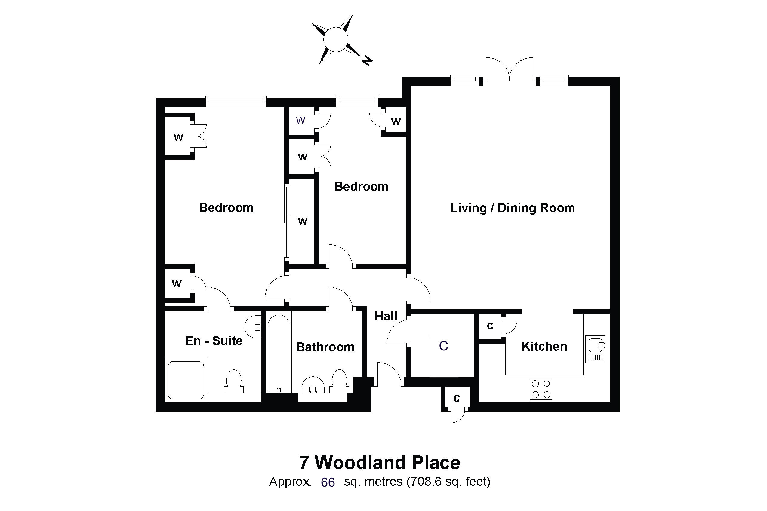 7 Woodland Place Floorplan