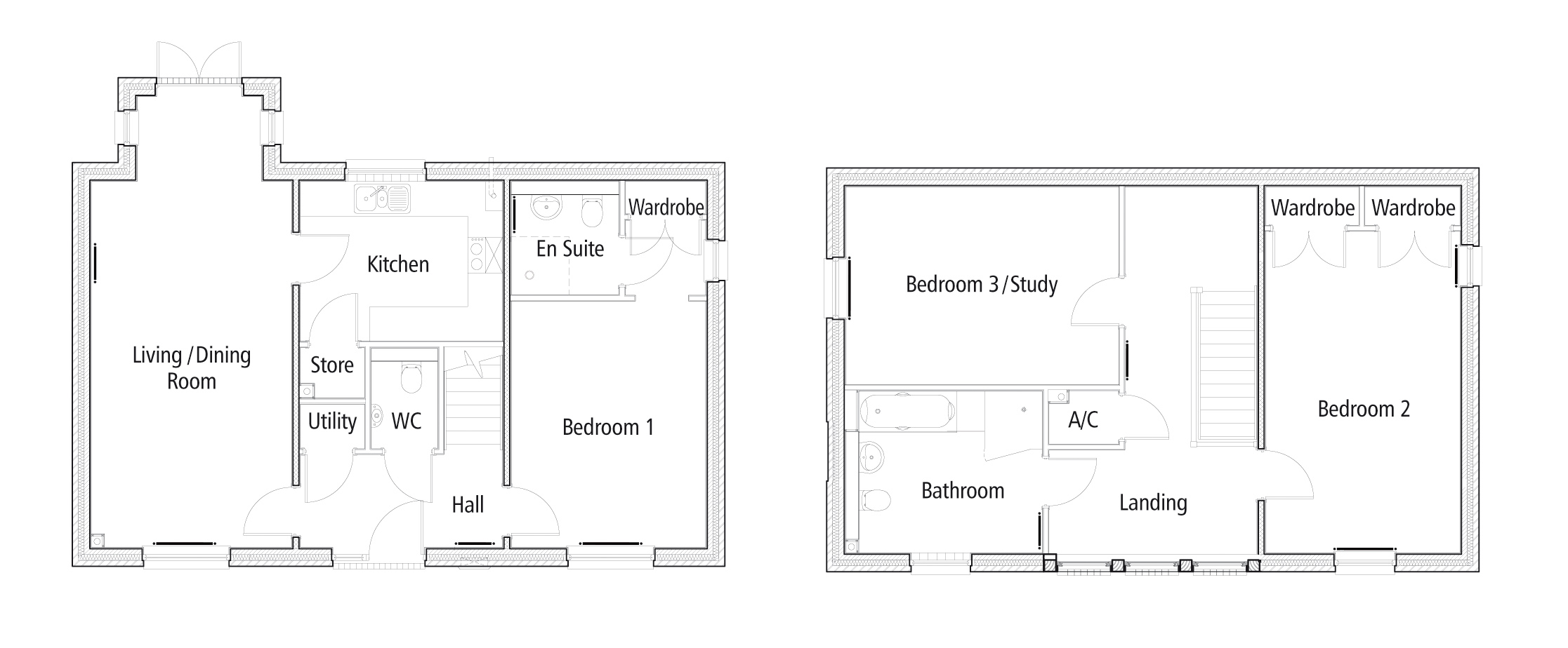 New Build, 32 The Polo Field Floorplan