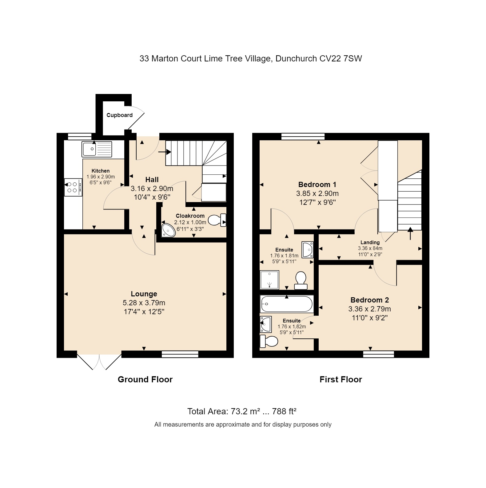 33 Marton Court Floorplan