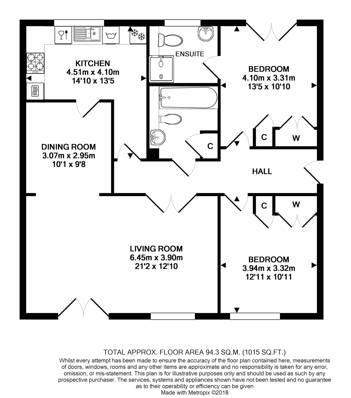 11 Kingfisher Court Floorplan