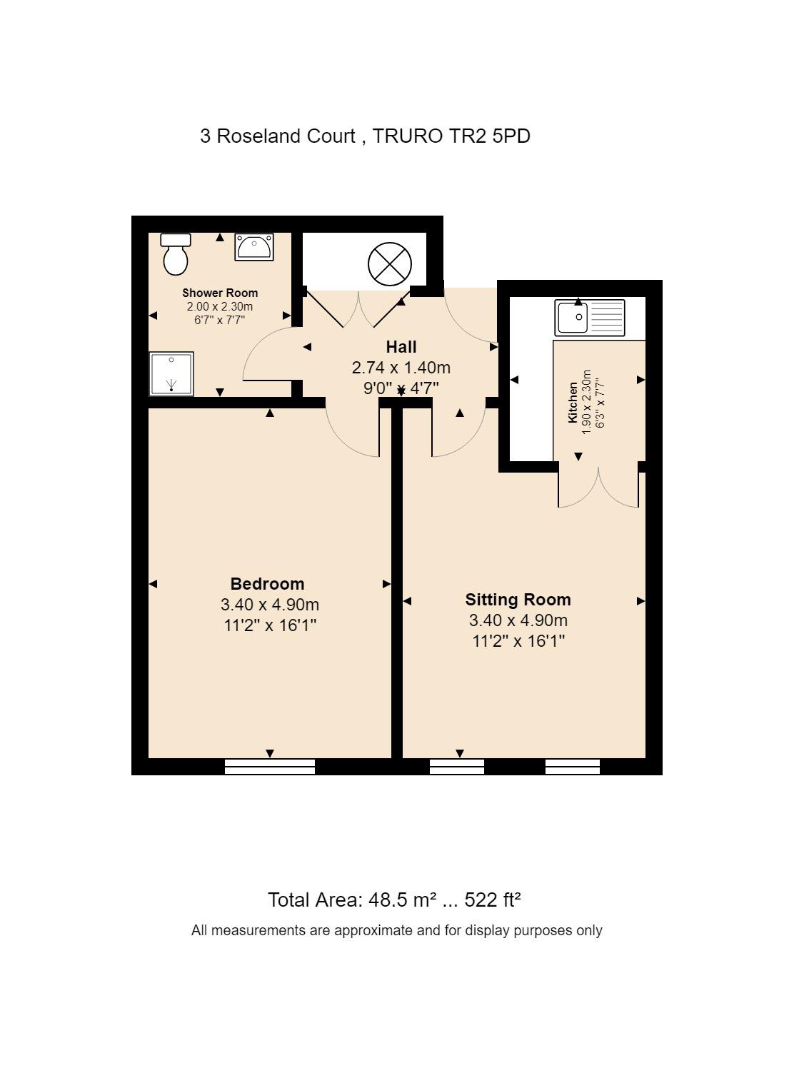 3 Roseland Court Floorplan
