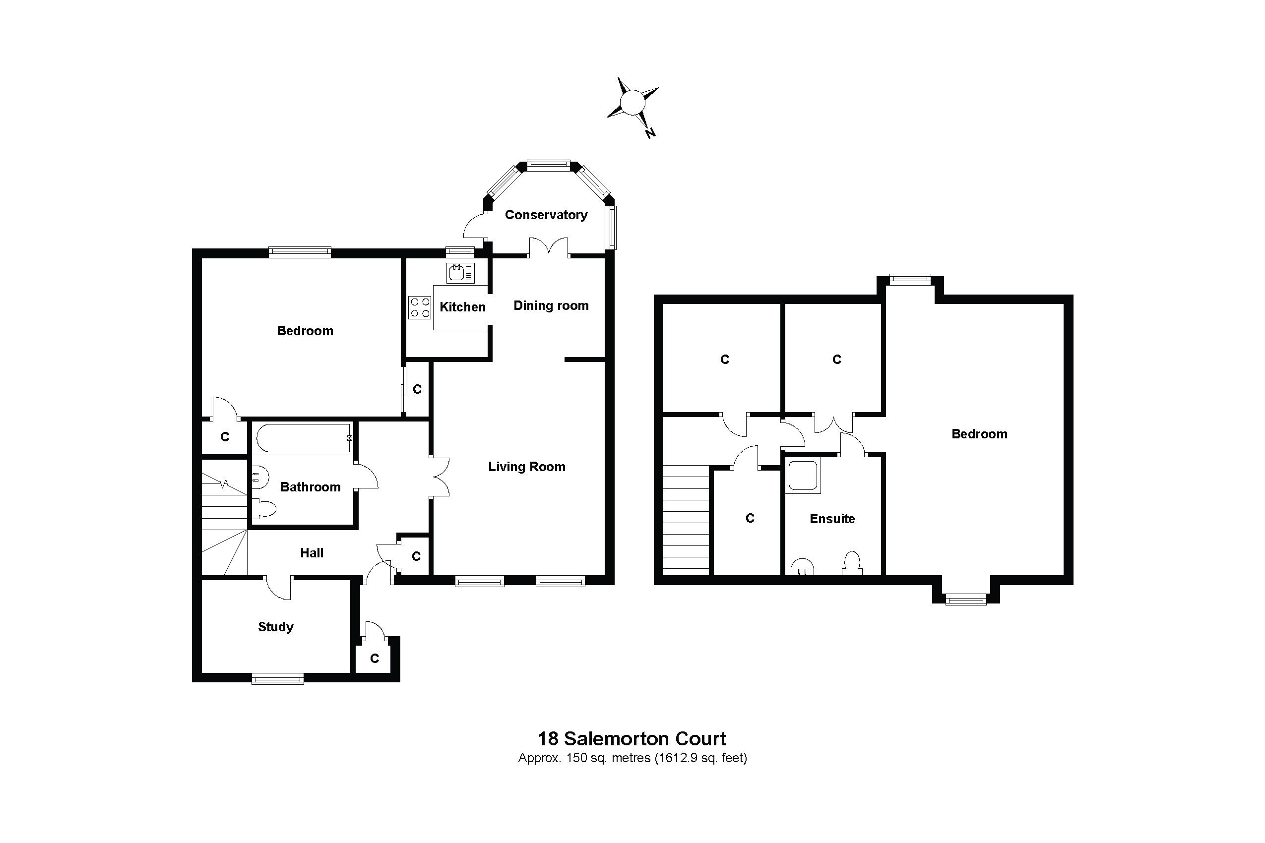18 Salemorton Court Floorplan