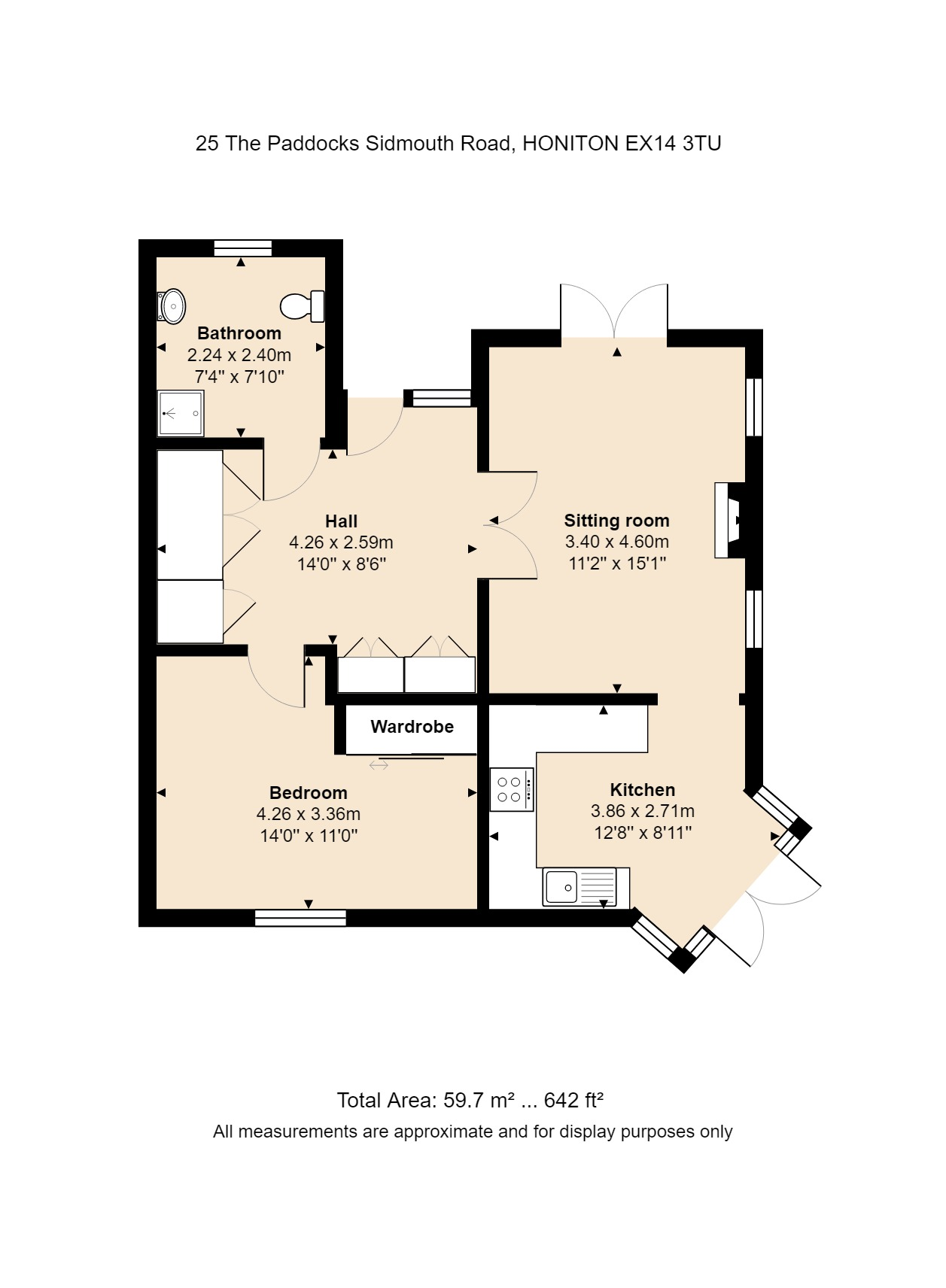 25 The Paddocks Floorplan