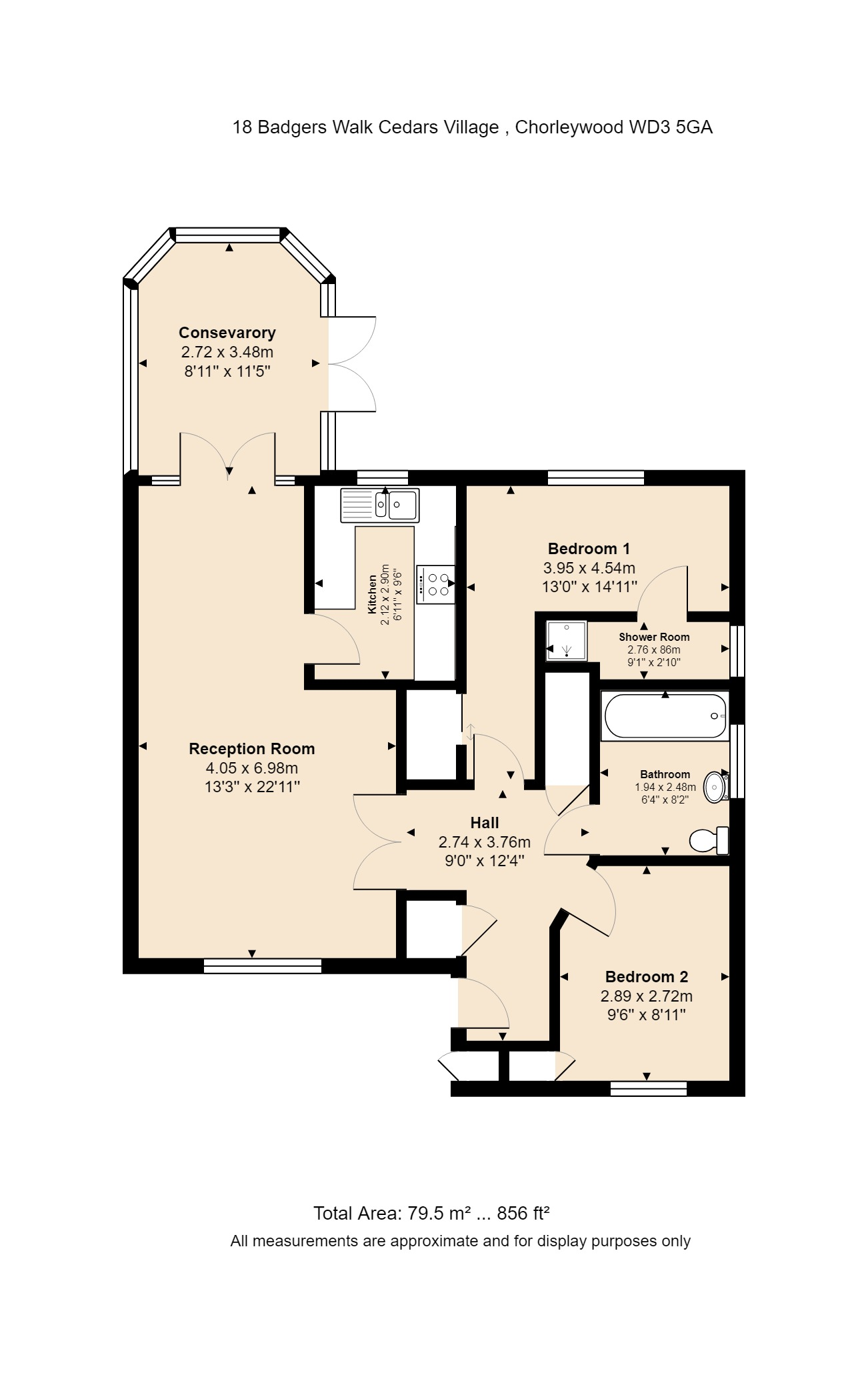 18 Badgers Walk Floorplan