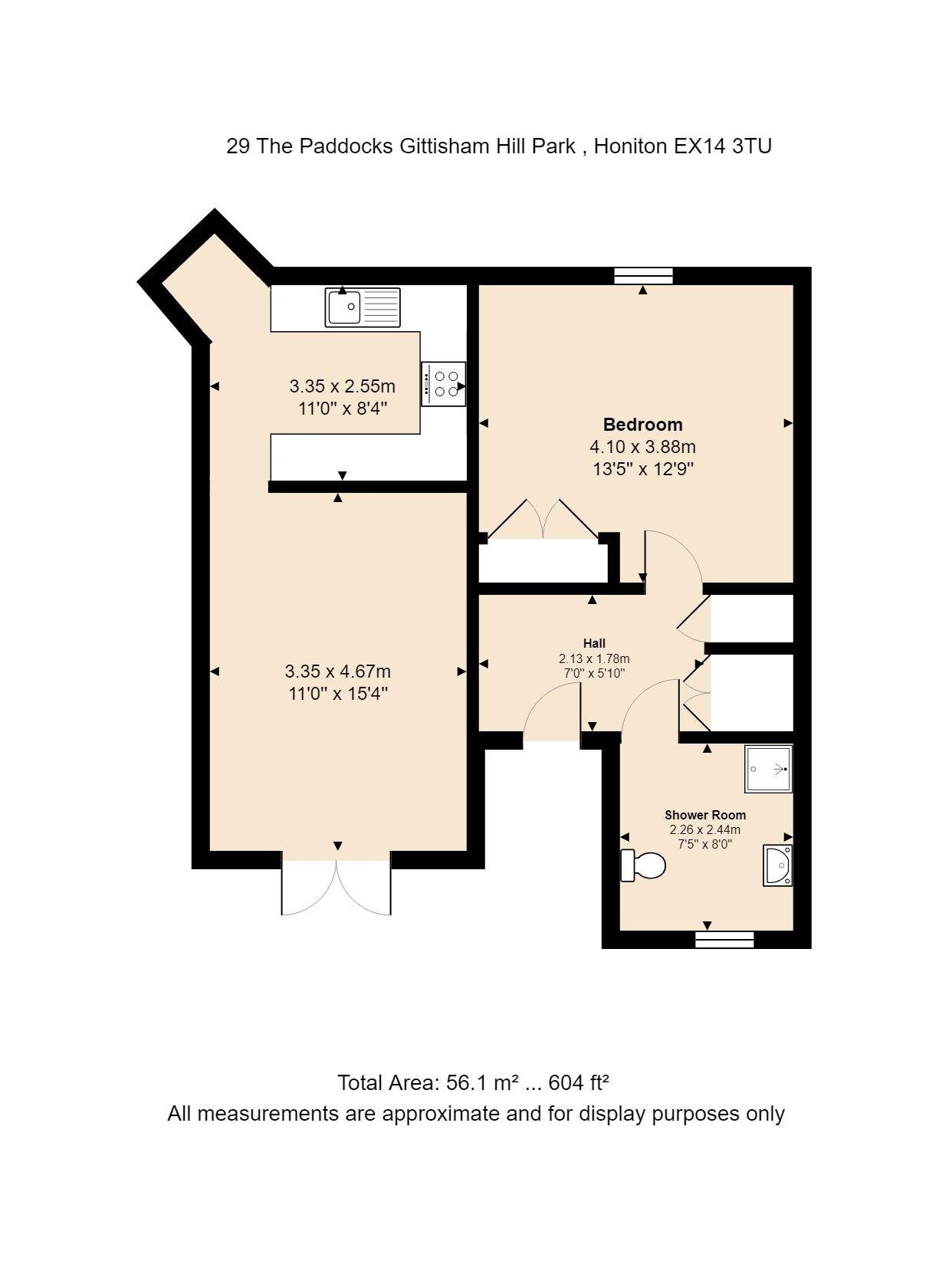 29 The Paddocks Floorplan