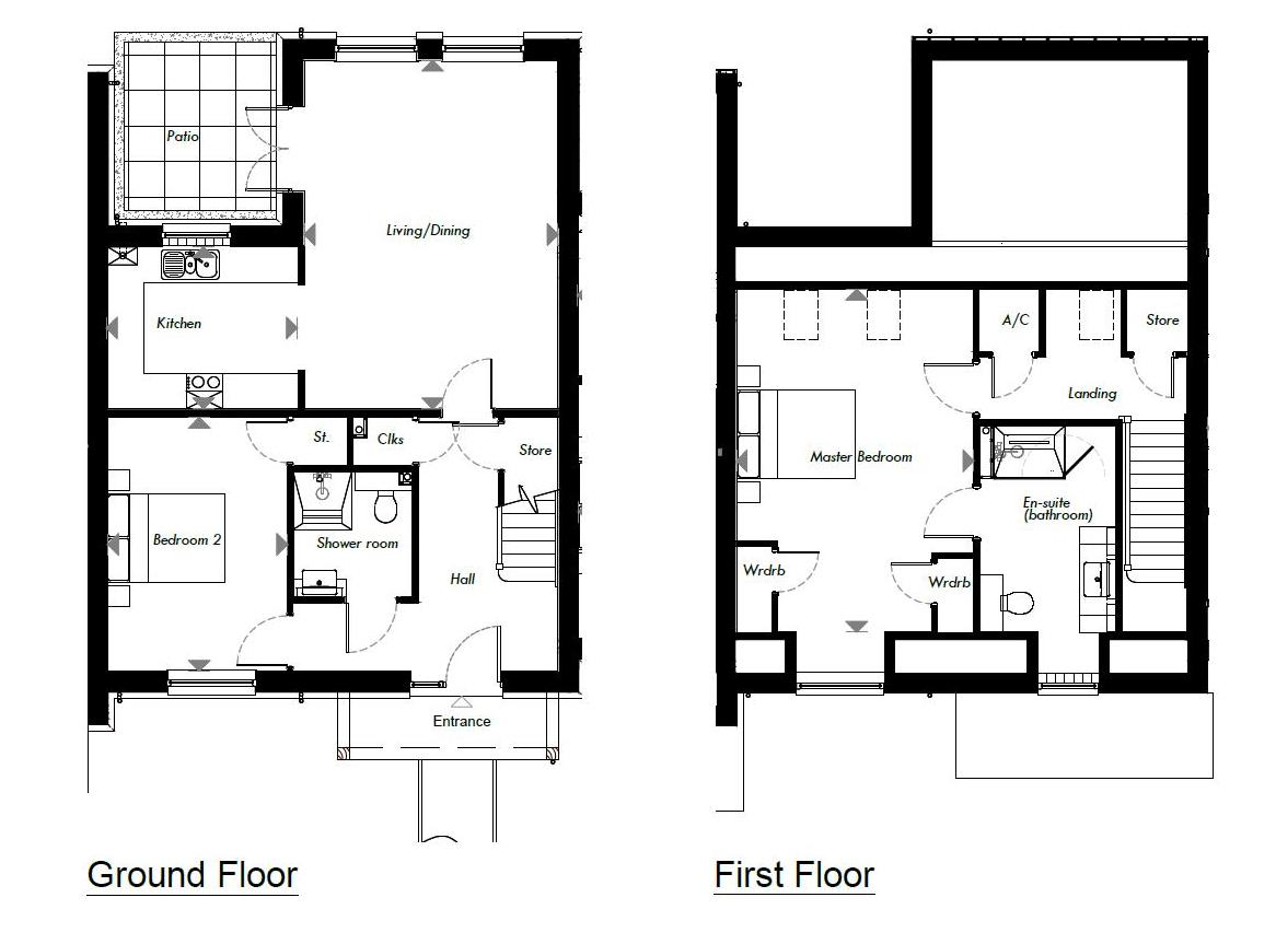 New Build, 2 Meadow View Floorplan