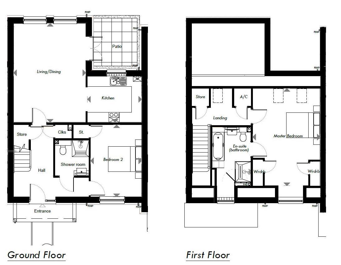 New Build, 8 Meadow View Floorplan
