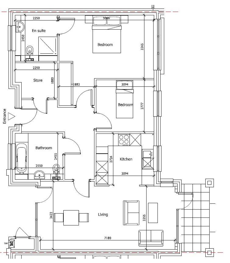 New Build 3 Medway House Floorplan