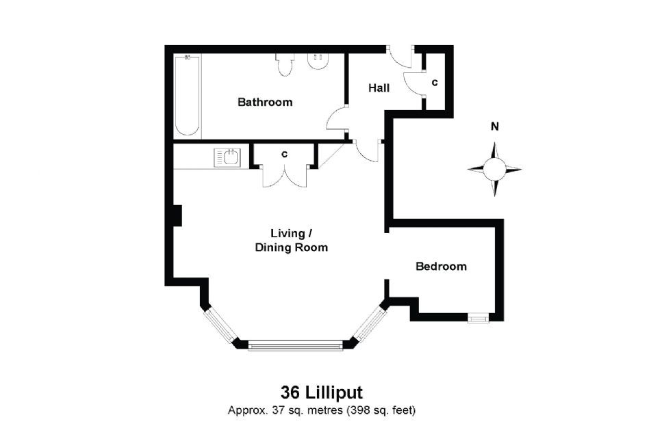 36 Lilliput Floorplan