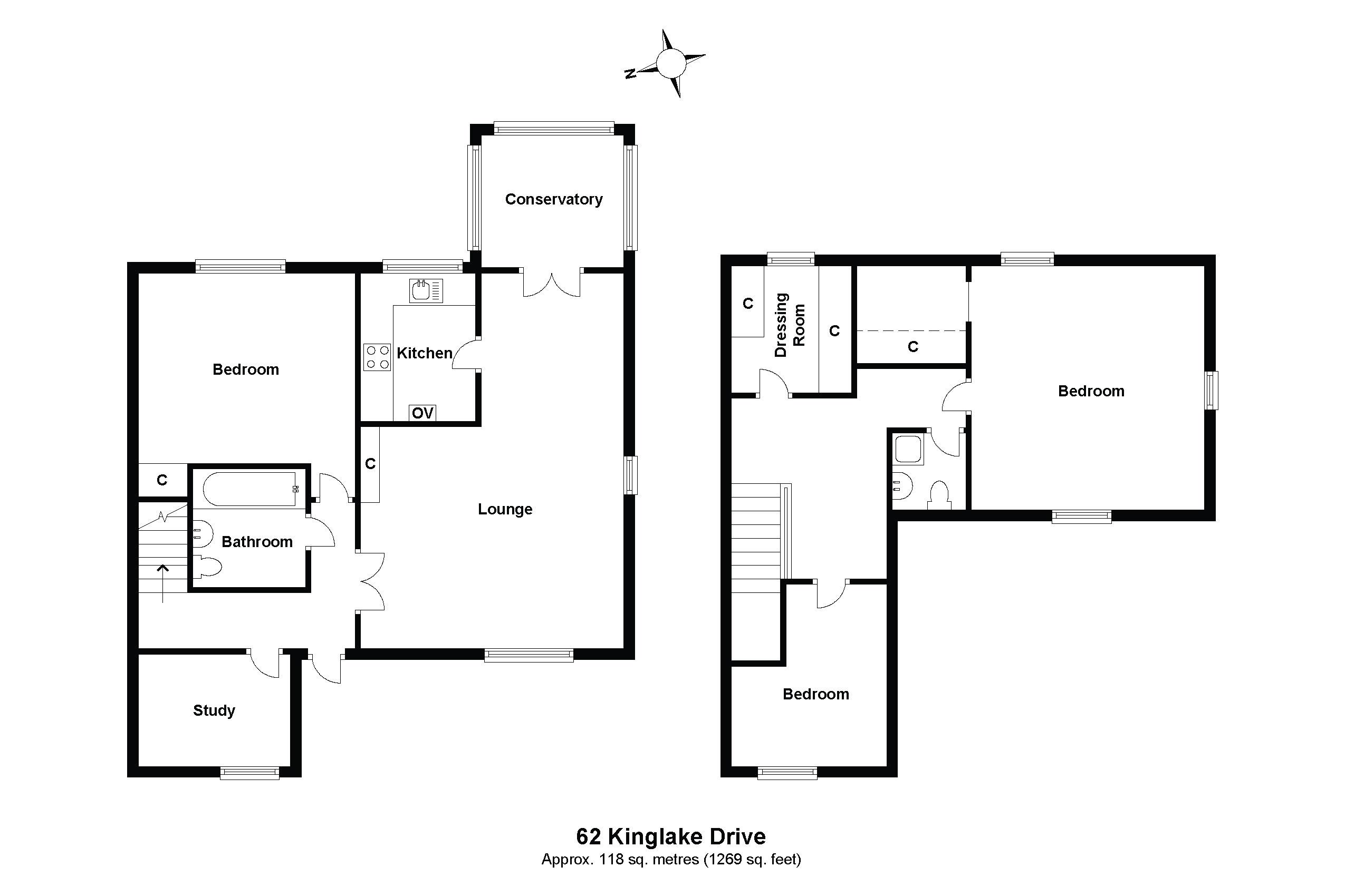 62 Kinglake Drive Floorplan
