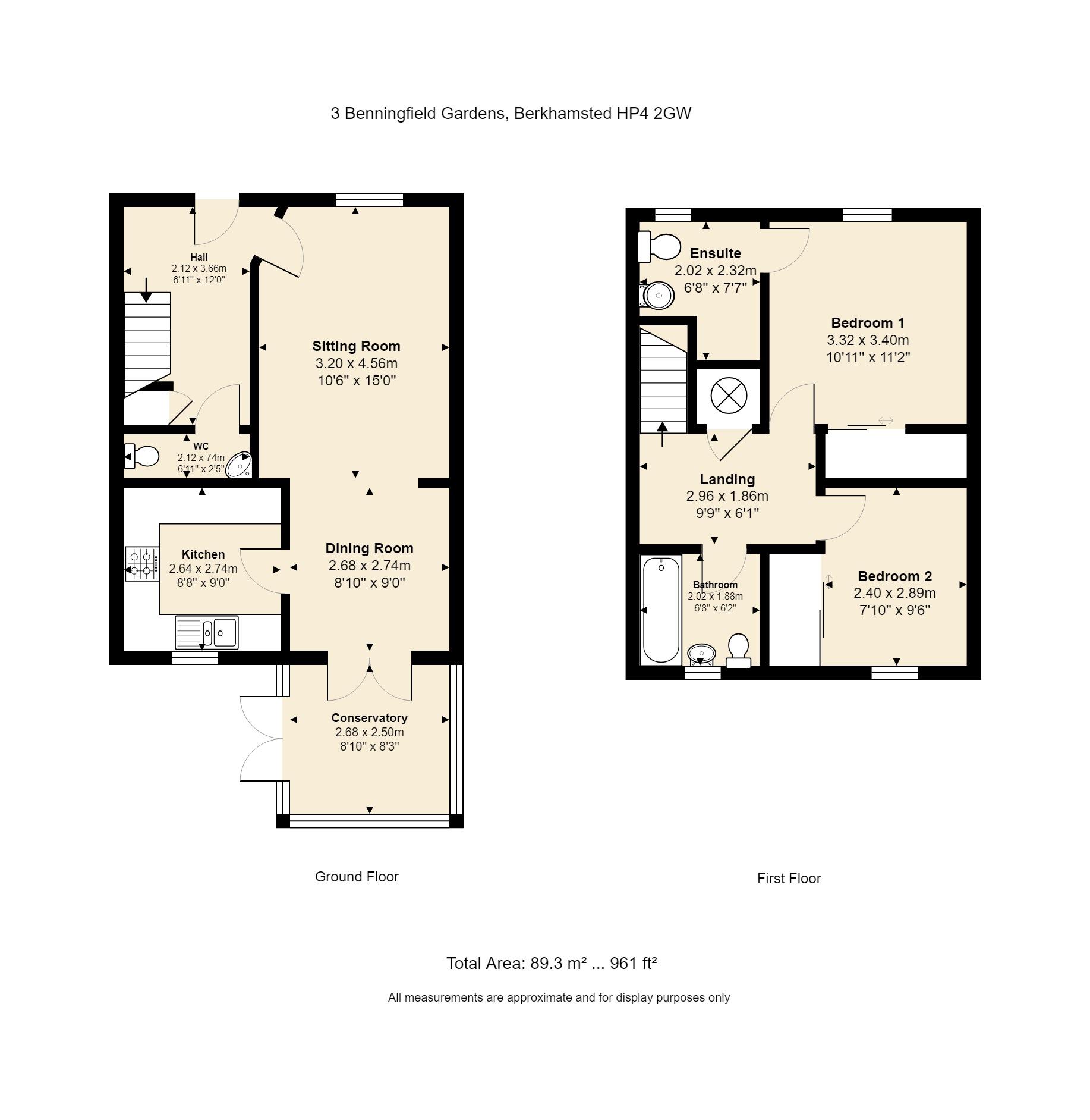 3 Benningfield Gardens Floorplan