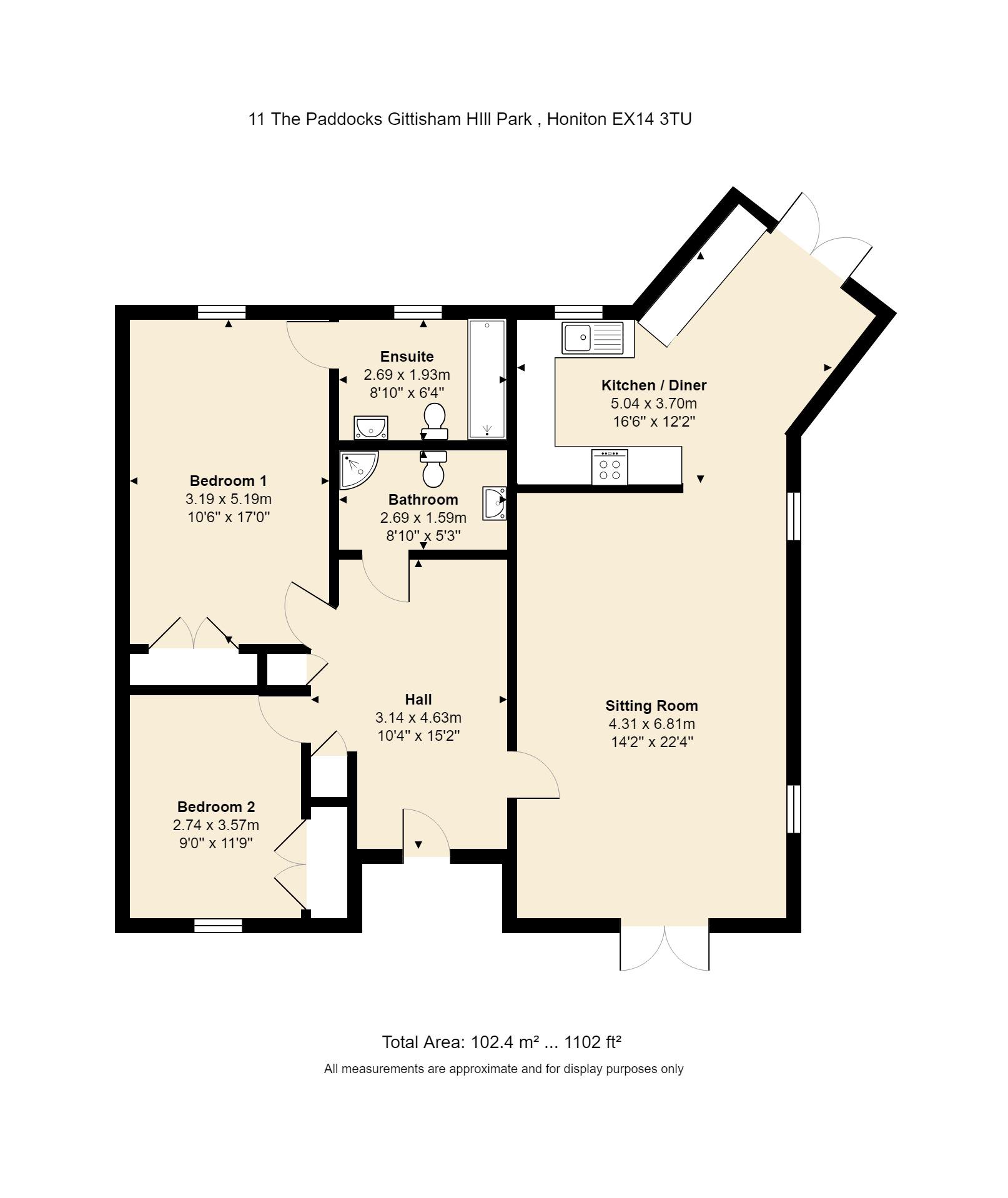 11 The Paddocks Floorplan