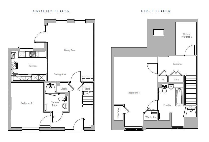 New Build, Debden Grange Cottage Plot 78 Floorplan