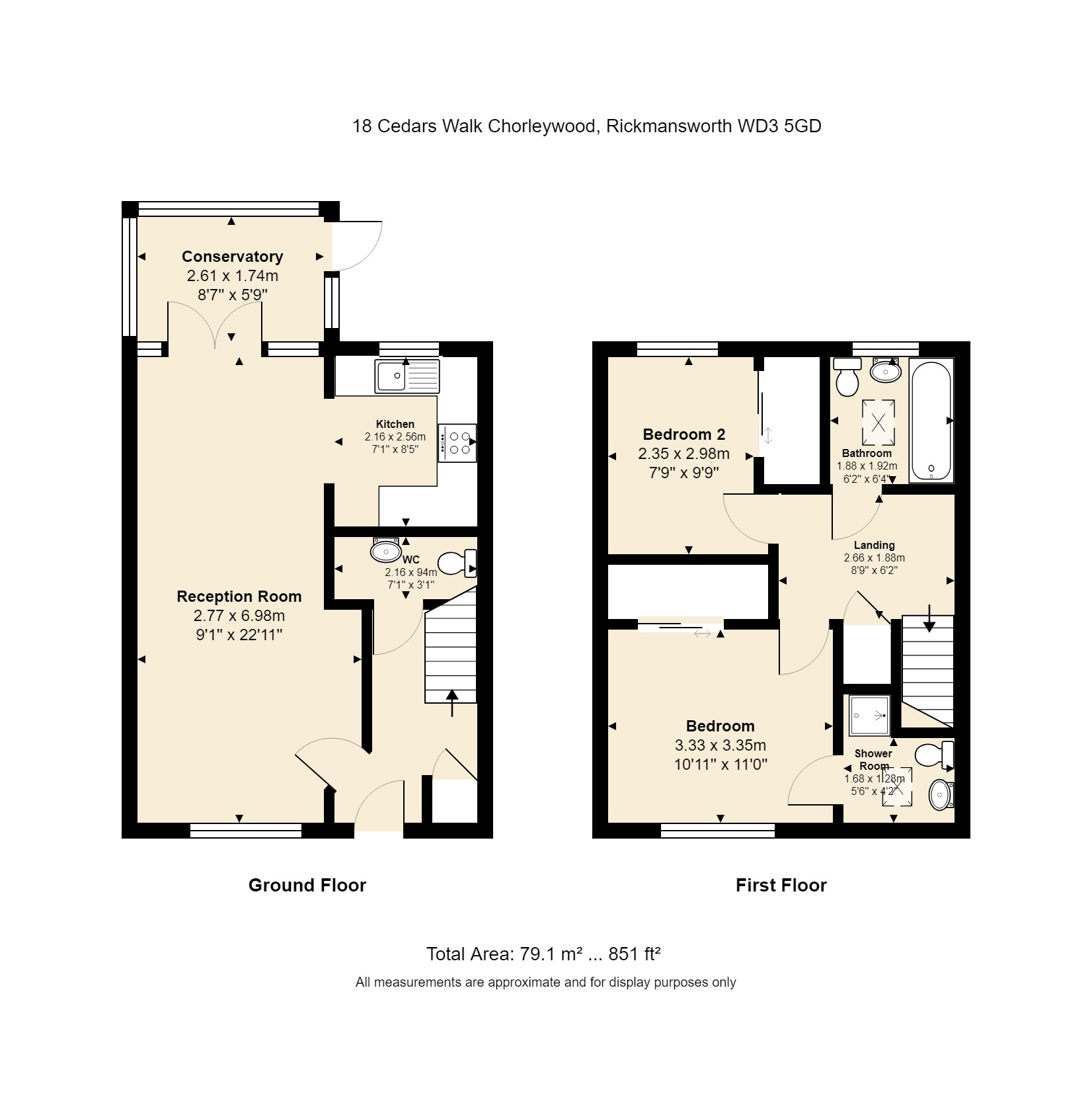 18 Cedars Walk Floorplan
