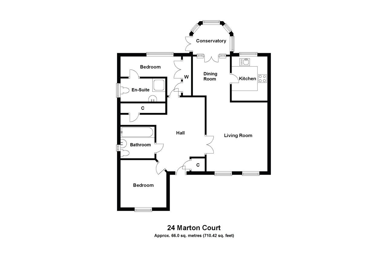 24 Marton Court Floorplan