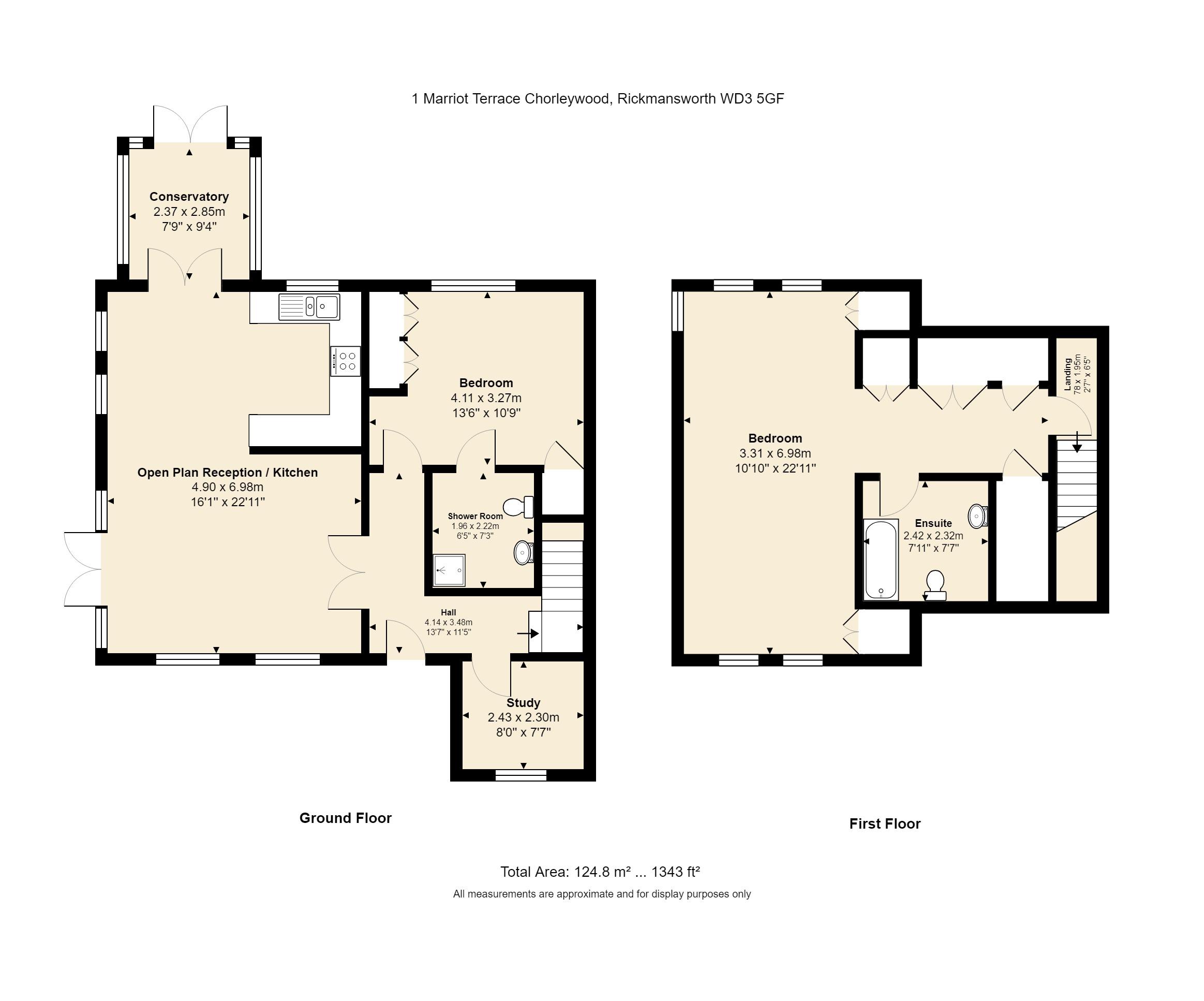 1 Marriot Terrace Floorplan