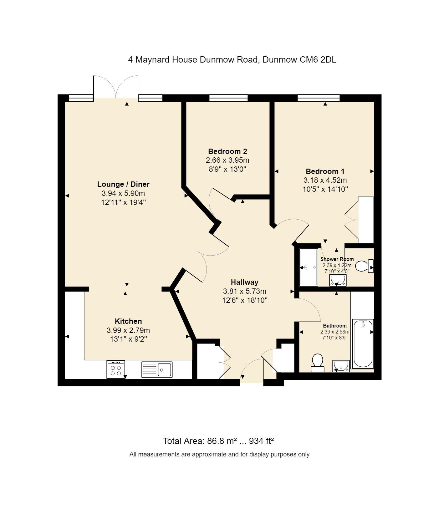 4 Maynard House Floorplan