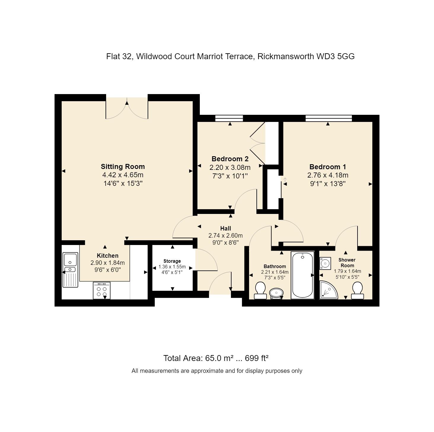 32 Wildwood Court Floorplan