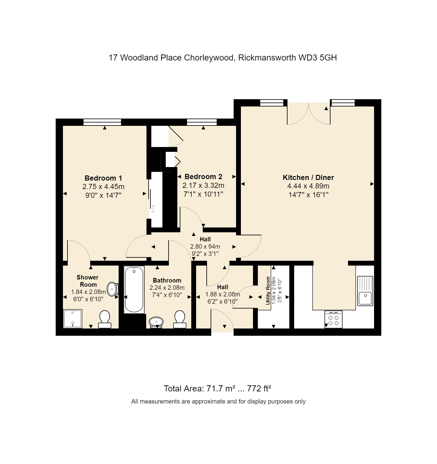 17 Woodland Place Floorplan
