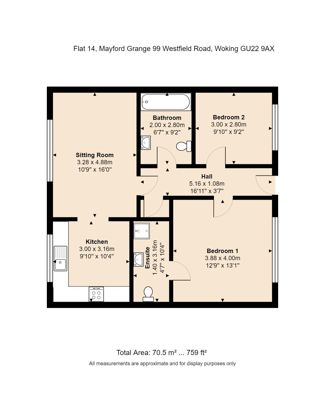 14 The Fairways Floorplan