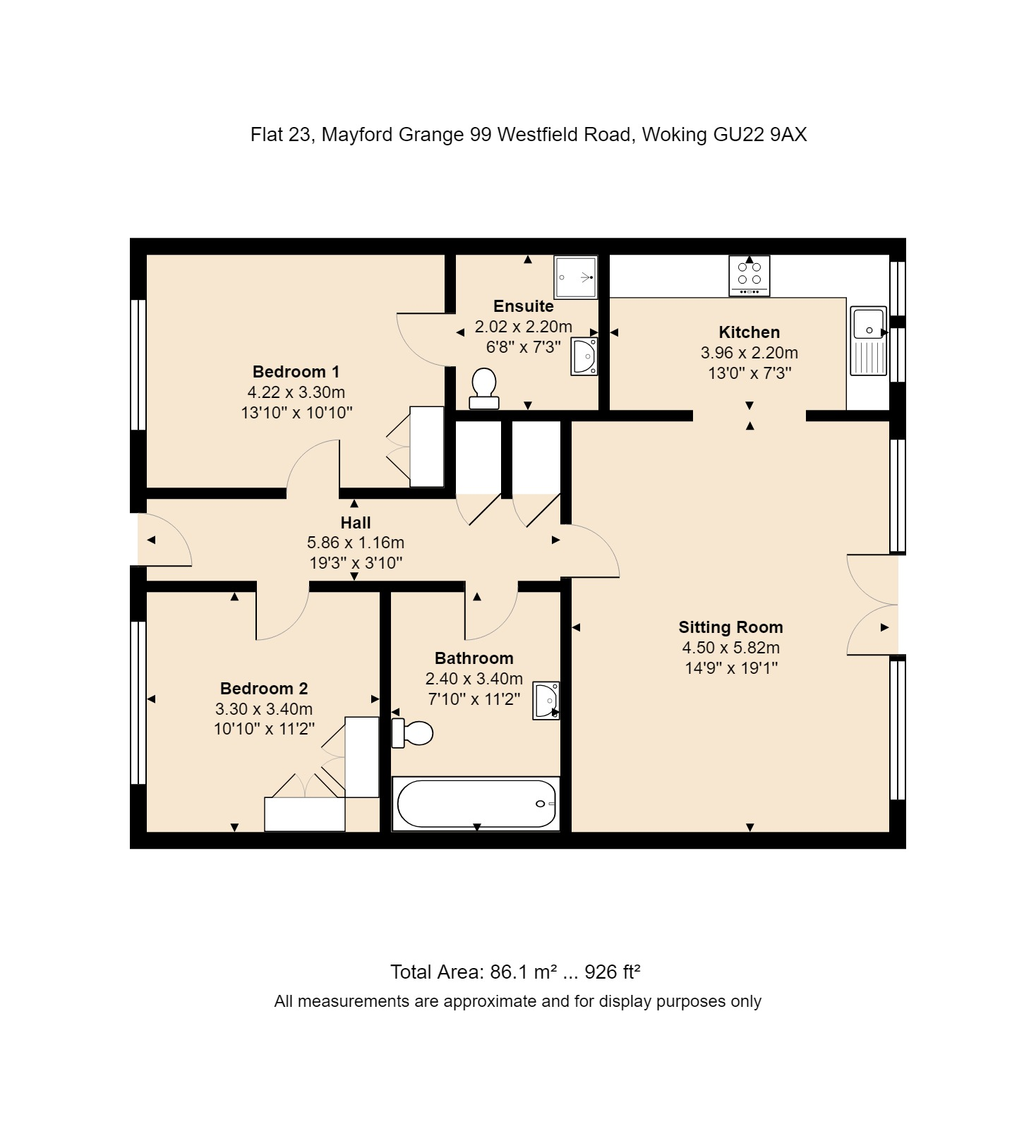 23 Sutton Green Lodge Floorplan