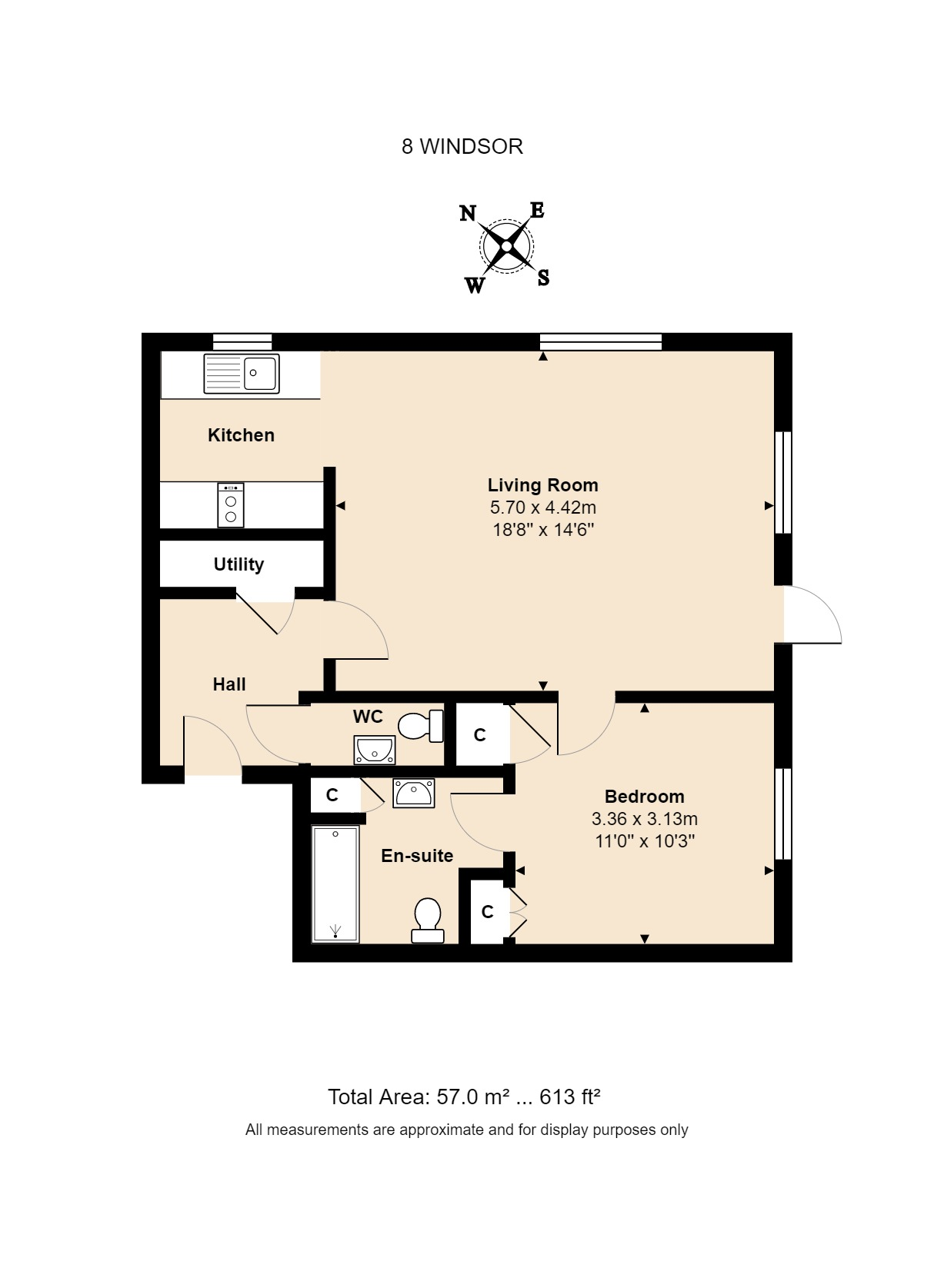 8 Windsor Floorplan