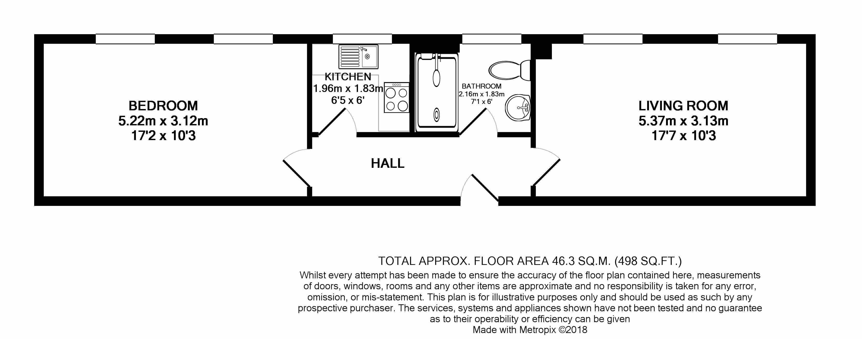 10 Alexander Hall Floorplan