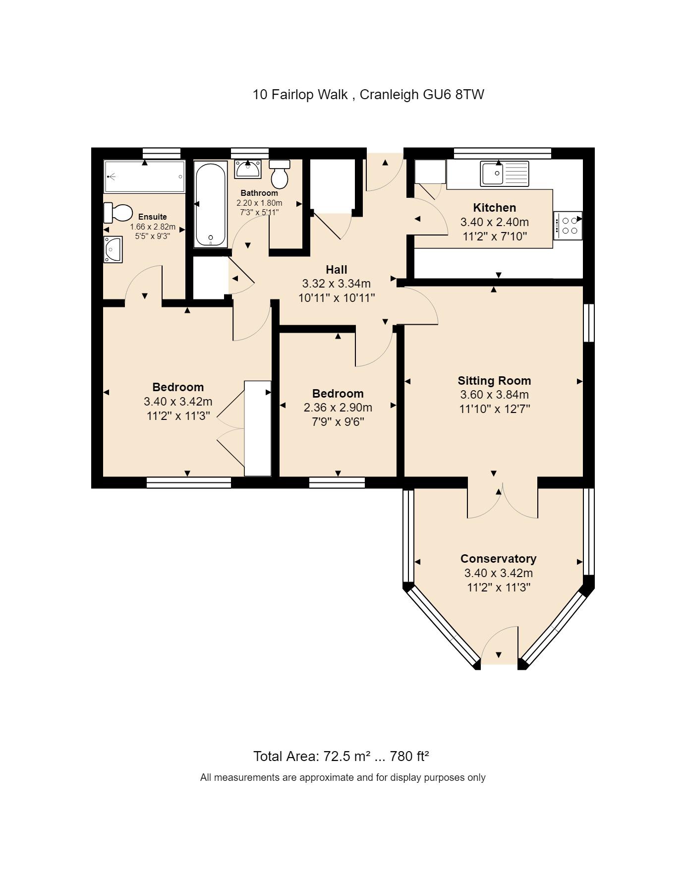 10 Fairlop Walk Floorplan