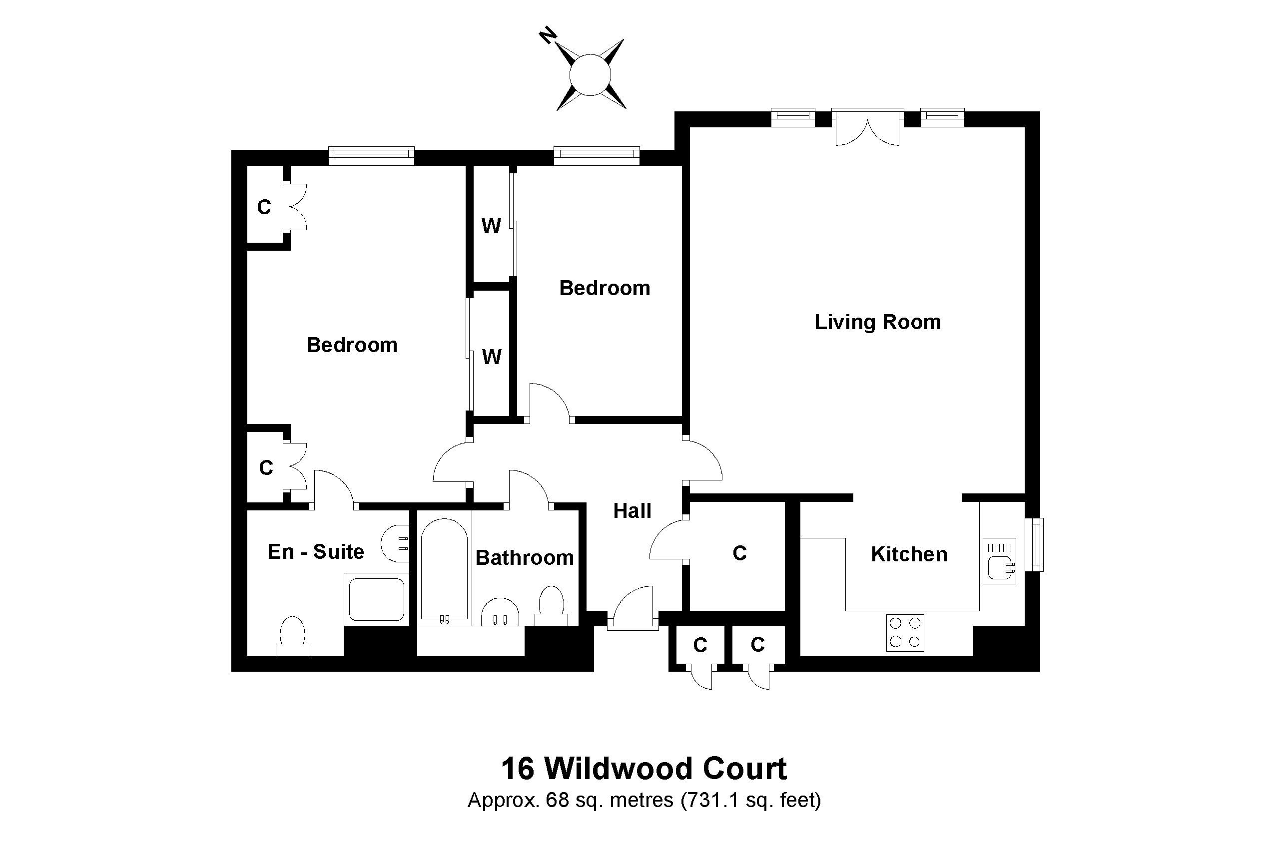 16 Wildwood Court Floorplan