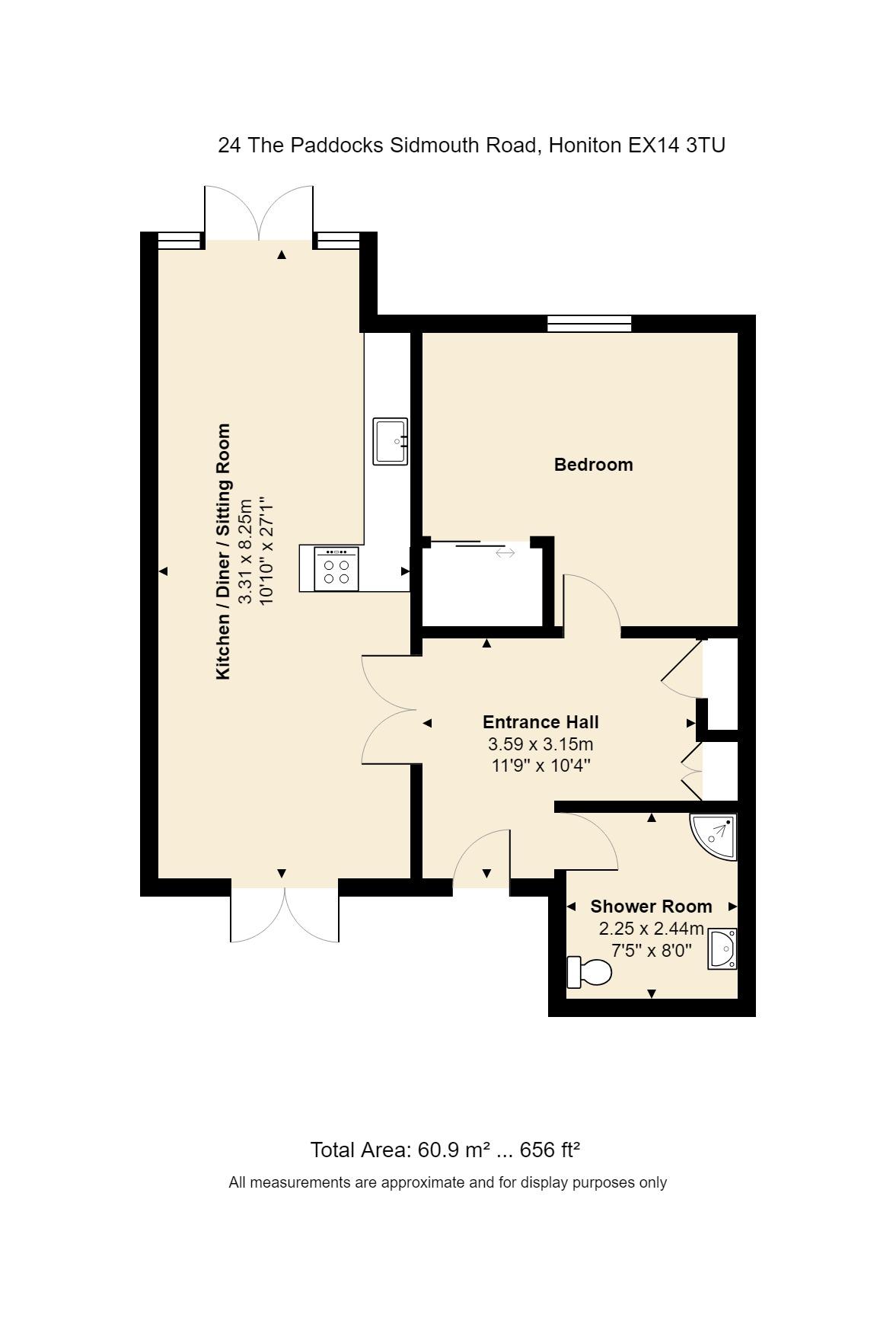 24 The Paddocks Floorplan