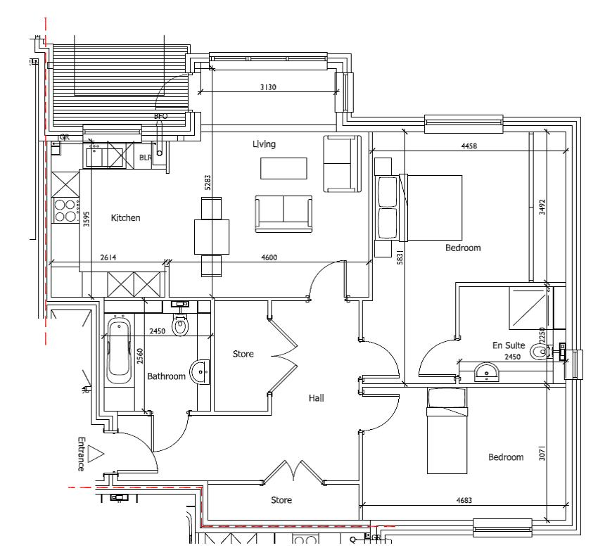 New Build 18 Medway House Floorplan