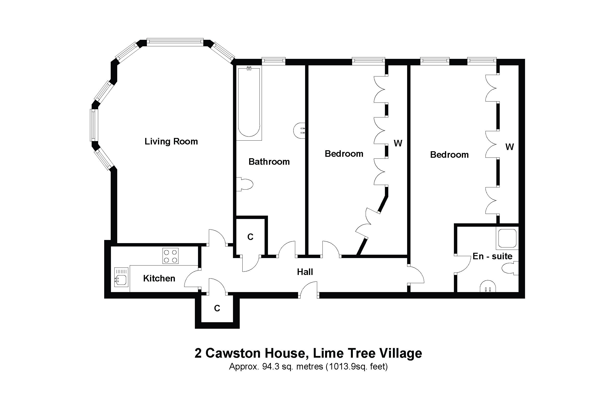 2 Cawston House Floorplan