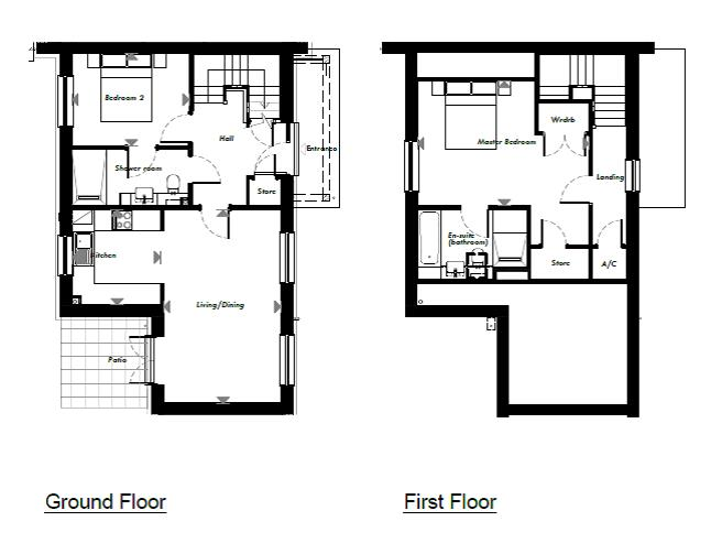 New Build, 48 The Martingale Floorplan