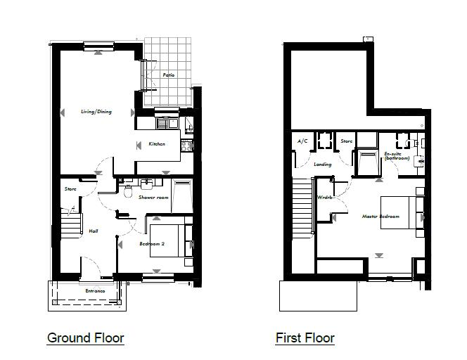 New Build, 53 The Martingale Floorplan