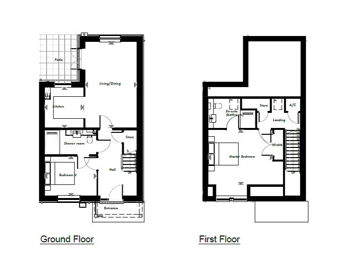 New Build, 55 The Martingale Floorplan